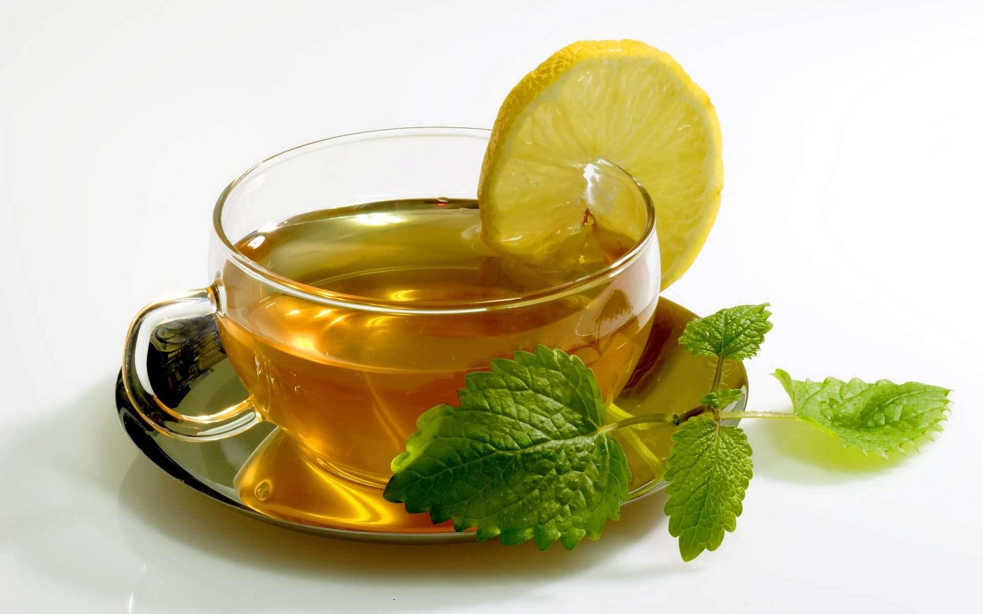 картинки чая с лимоном и мятой система