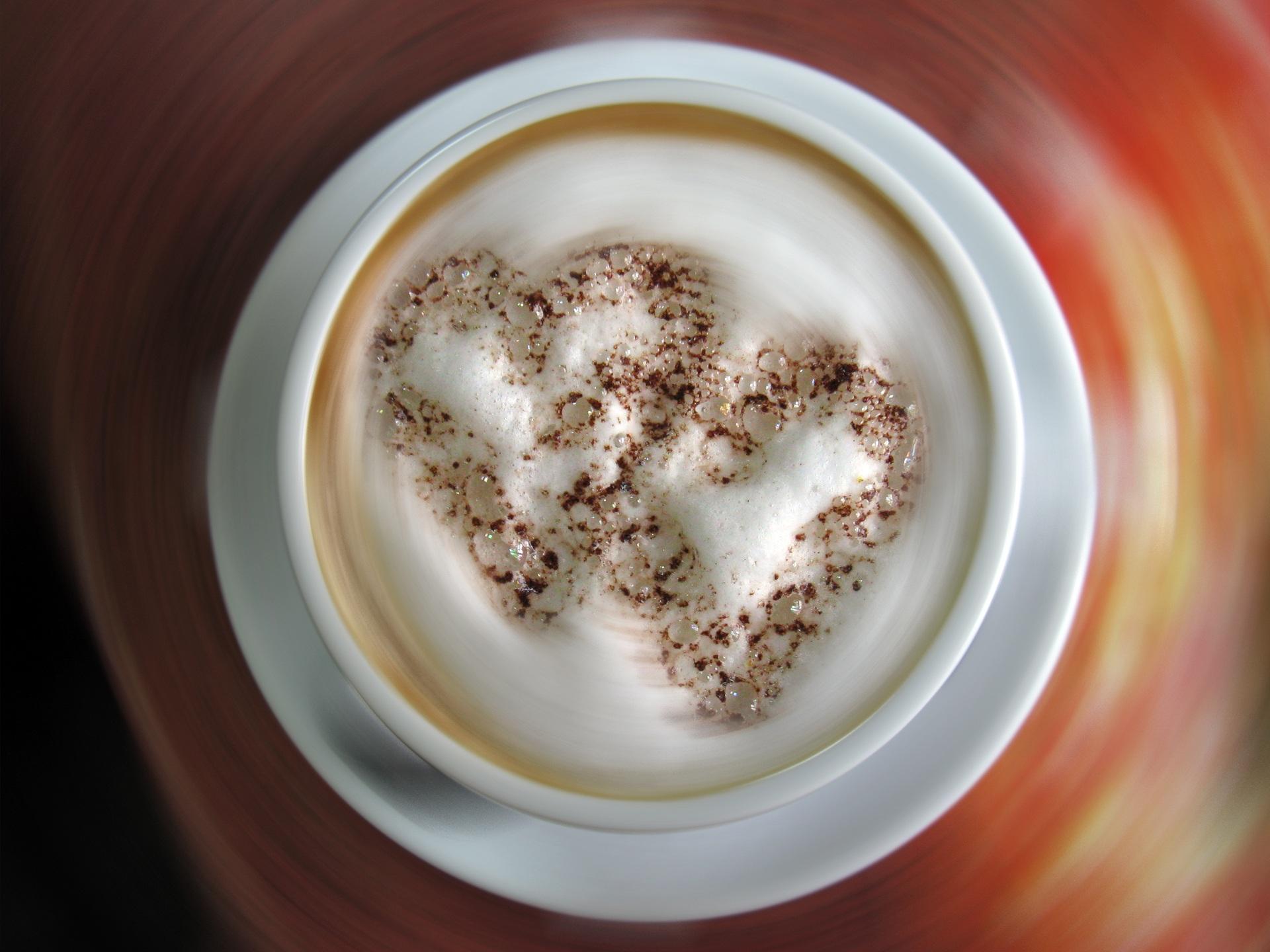 Чашка сердце кофе скачать