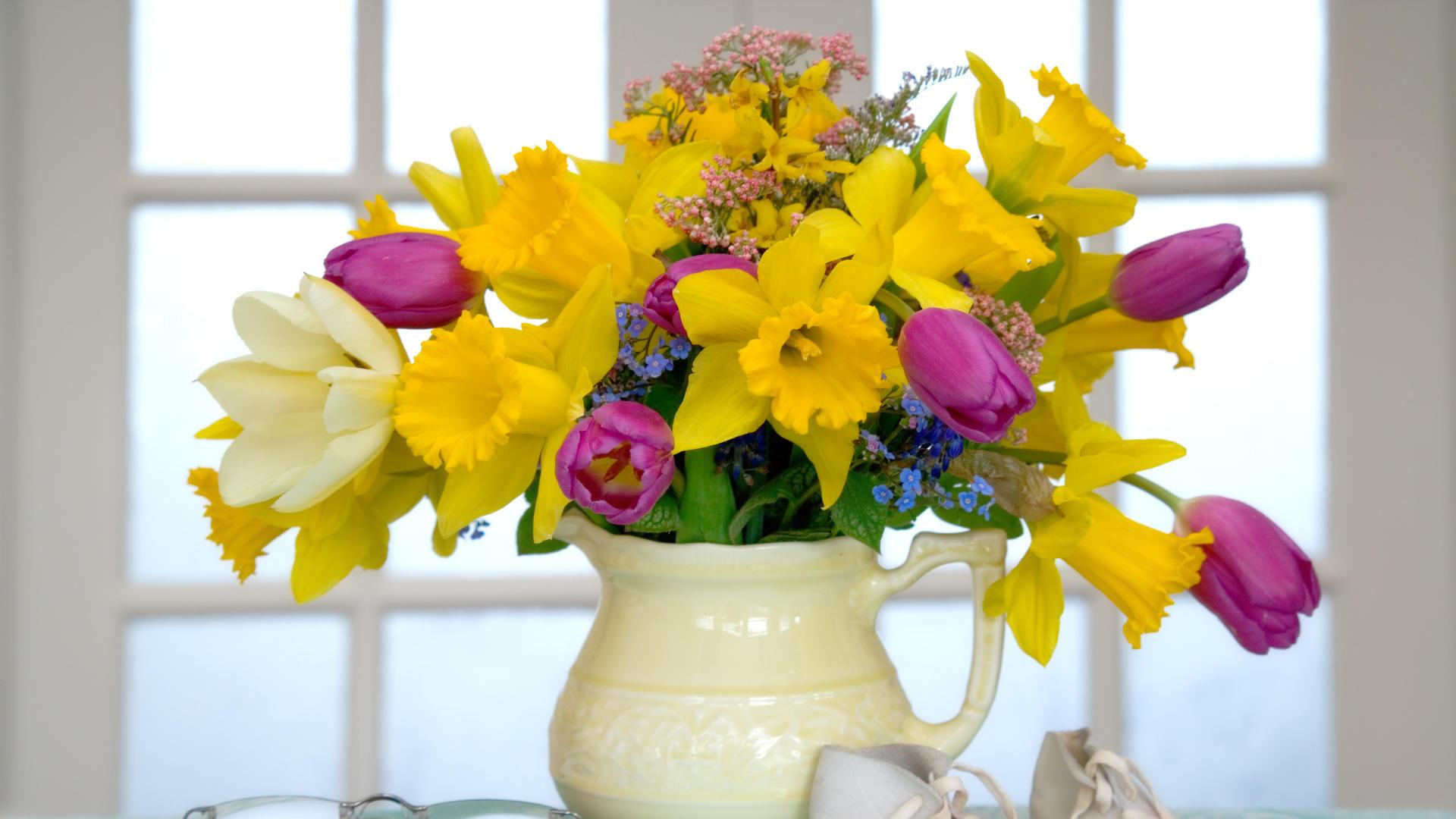 цветы ваза букет посуда flowers vase bouquet dishes  № 1733828 без смс