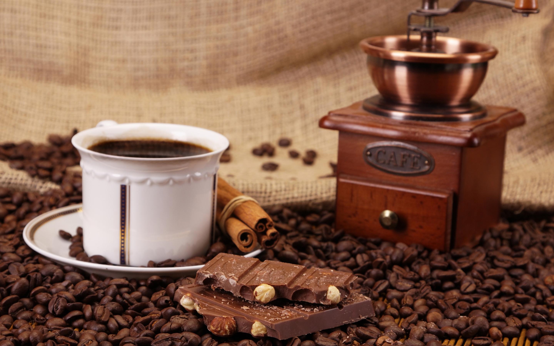 чашка кофе и кофемолка картинки