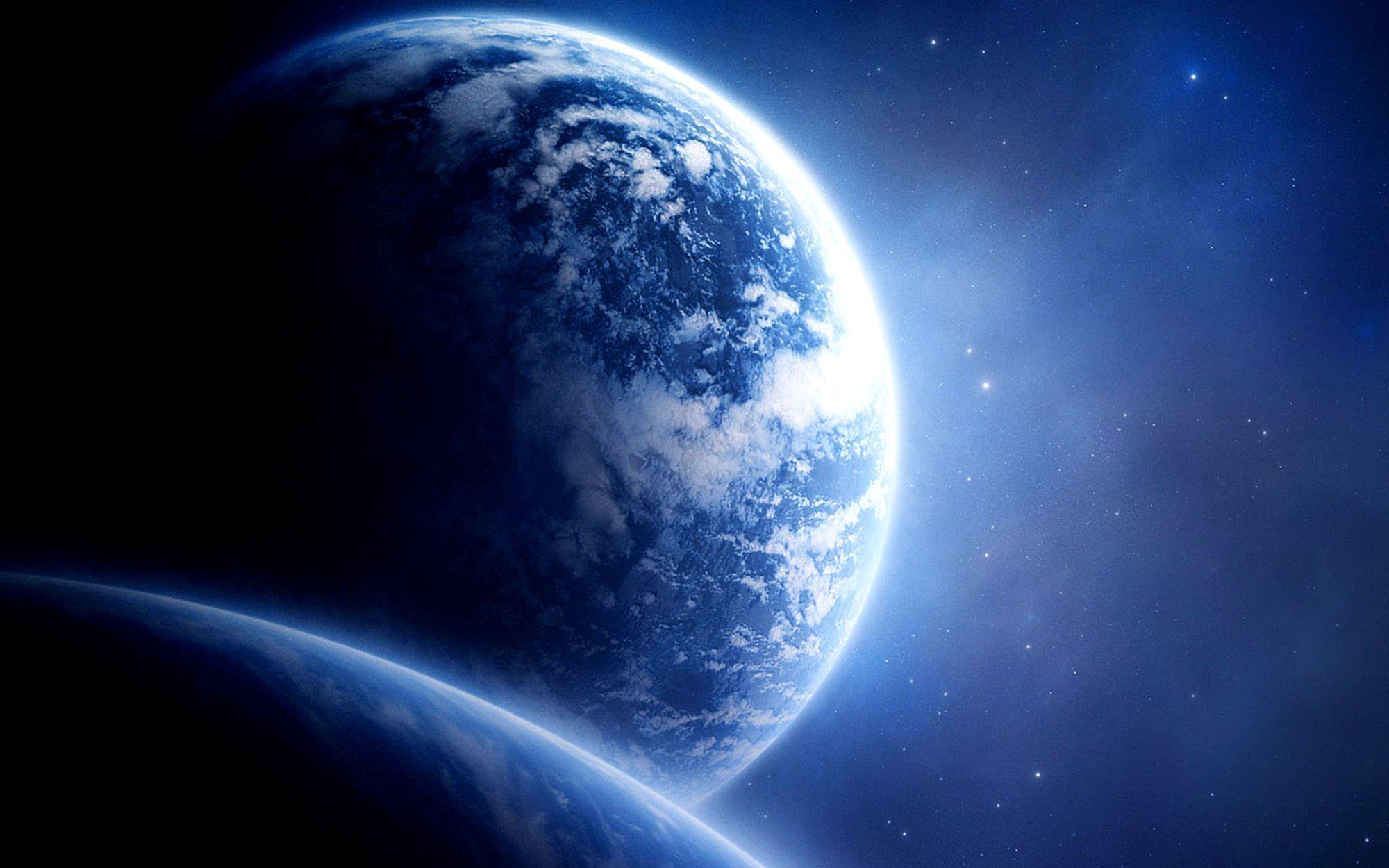 Обои Земля планета космос картинки на рабочий стол на тему Космос - скачать  № 3551682 без смс