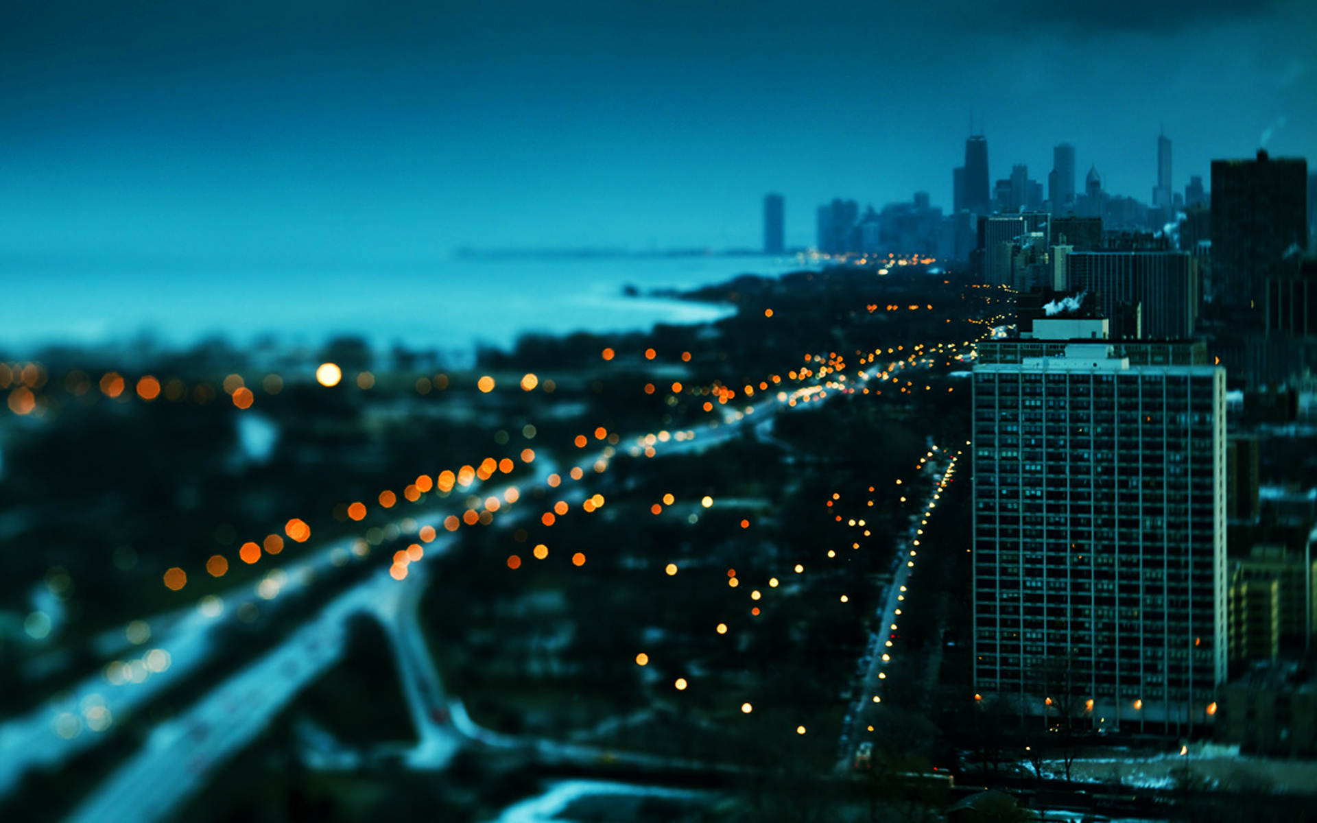 город огни высота ночь бесплатно
