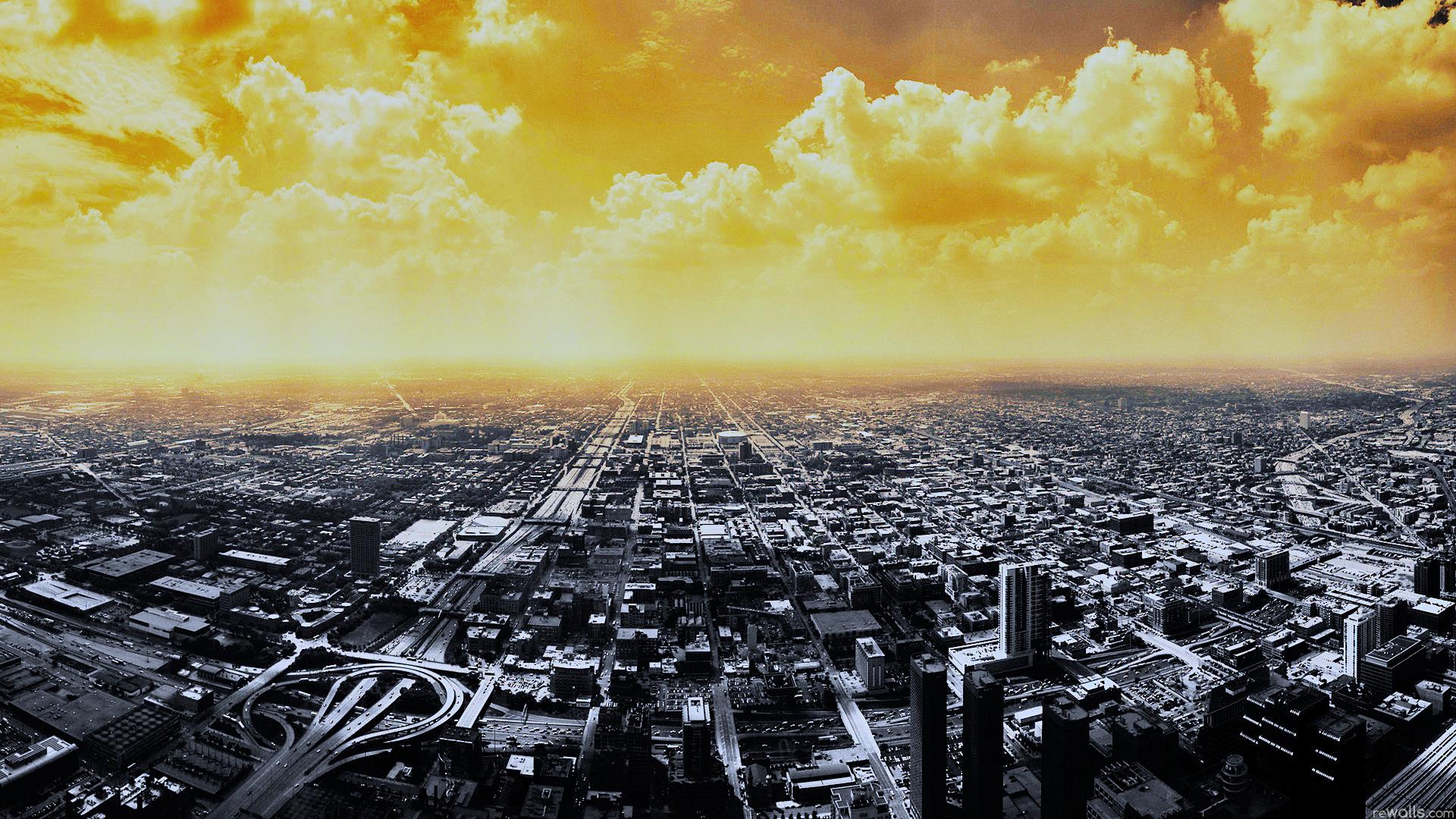 город сверху смотреть