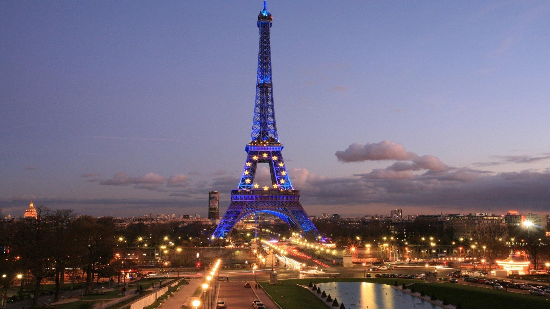Париж из космоса  № 3715269 загрузить