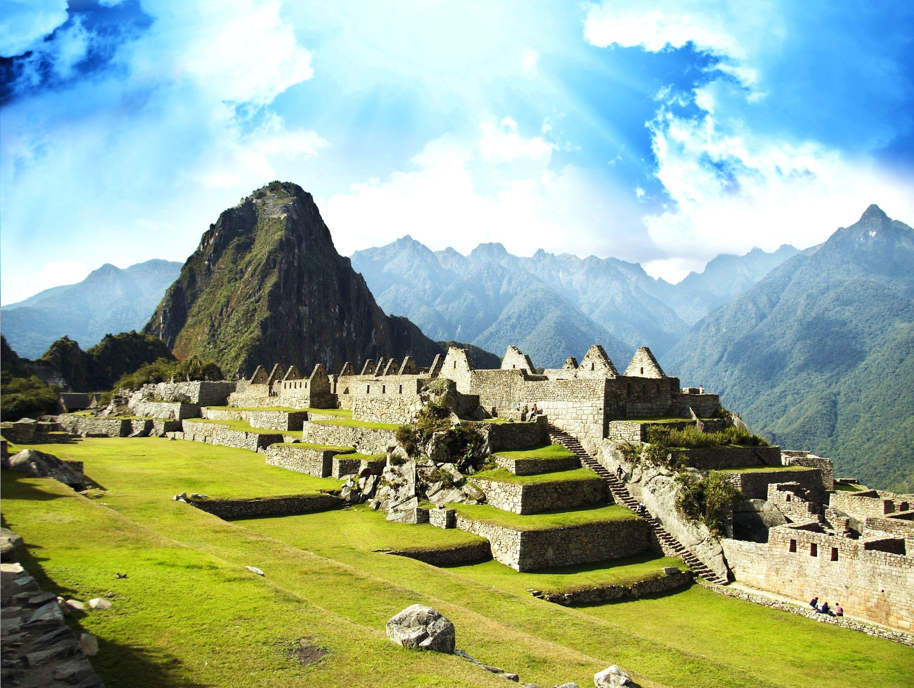 мачу-пикчу перу Machu Picchu Peru Machu Picchu  № 393721 без смс