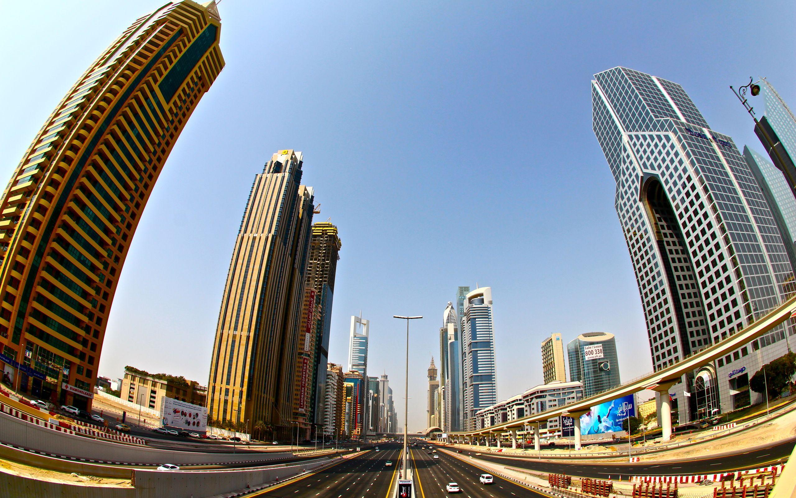 страны архитектура небоскреб рассвет Дубаи объединенные арабские эмираты  № 2209853 бесплатно