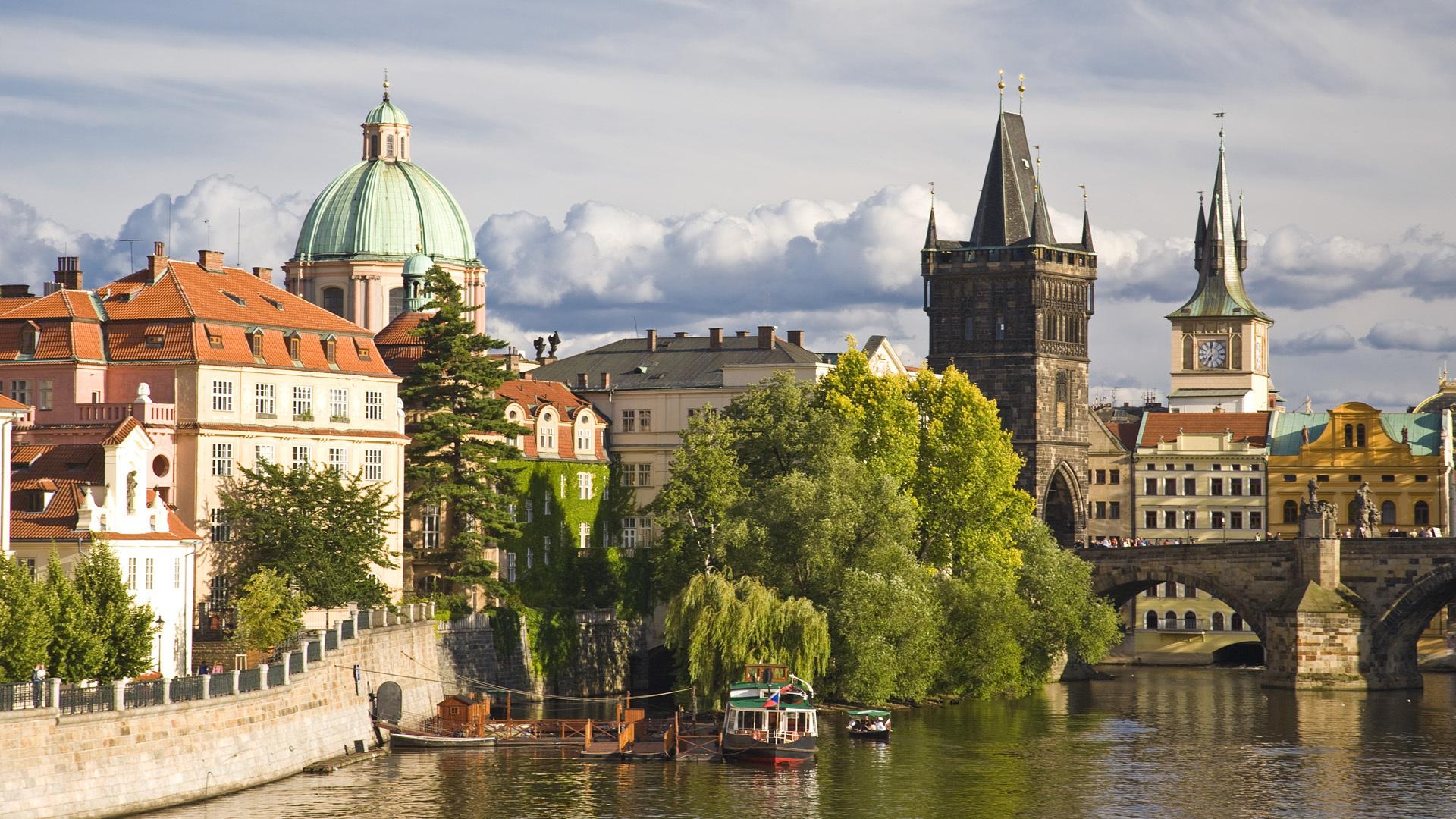 страны архитектура Прага Чехия без смс