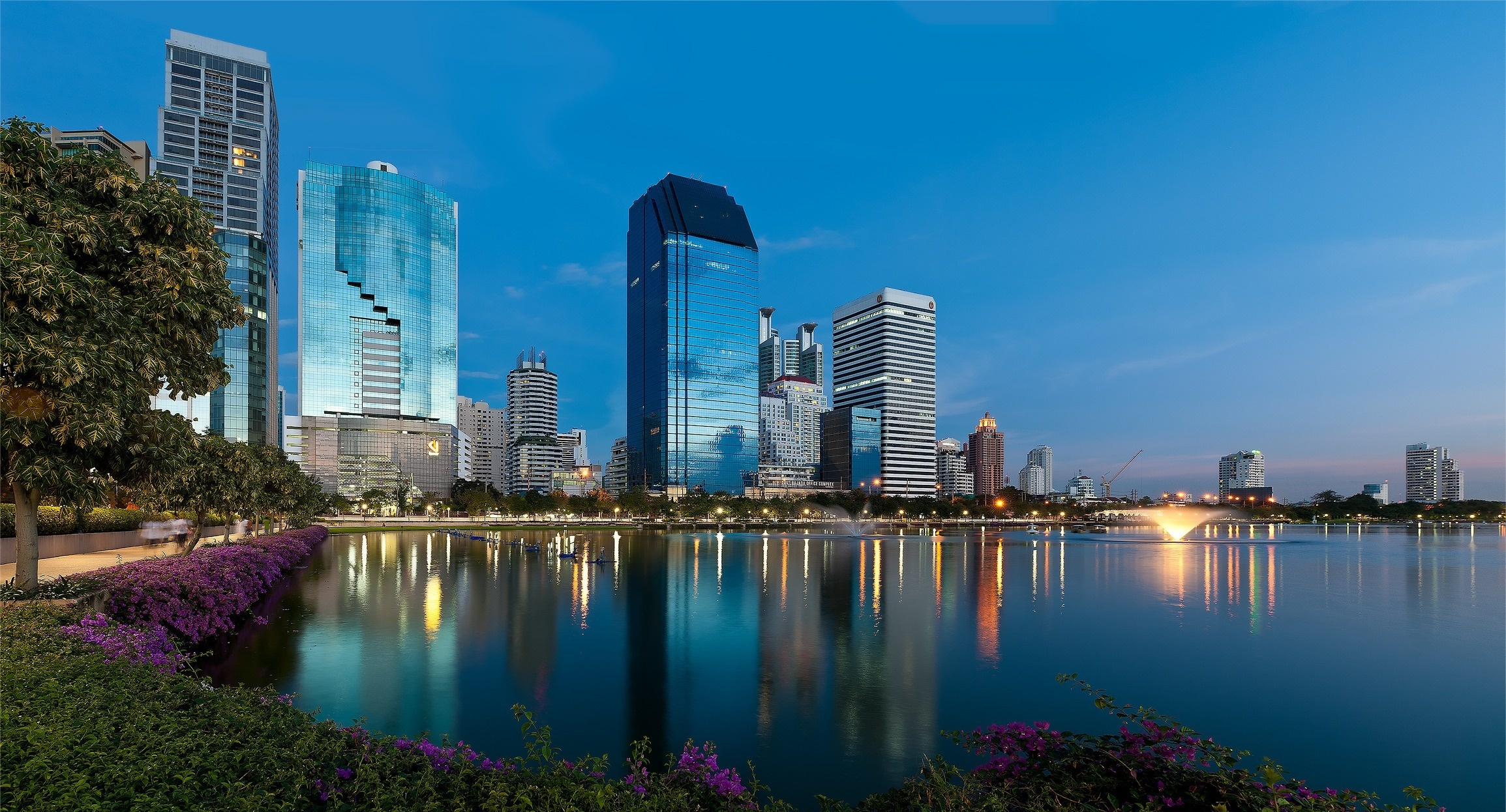 страны архитектура Бангкок Таиланд ночь  № 2195084 без смс