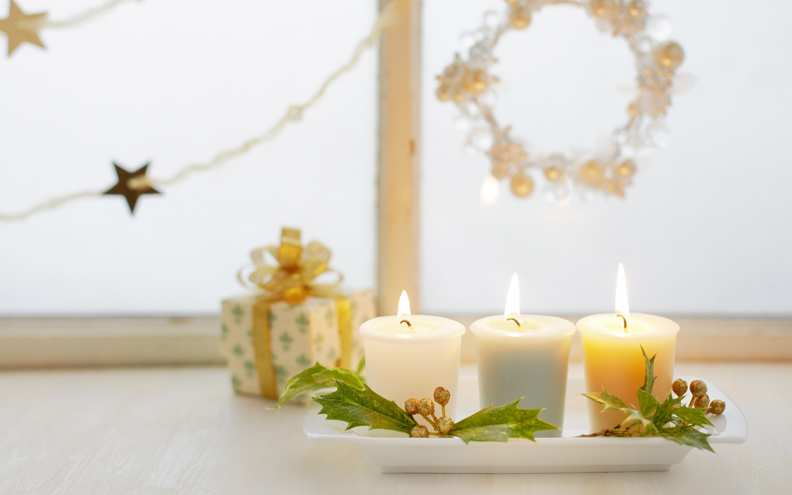 подарки новый год свечи корзинка gifts new year candles basket без смс