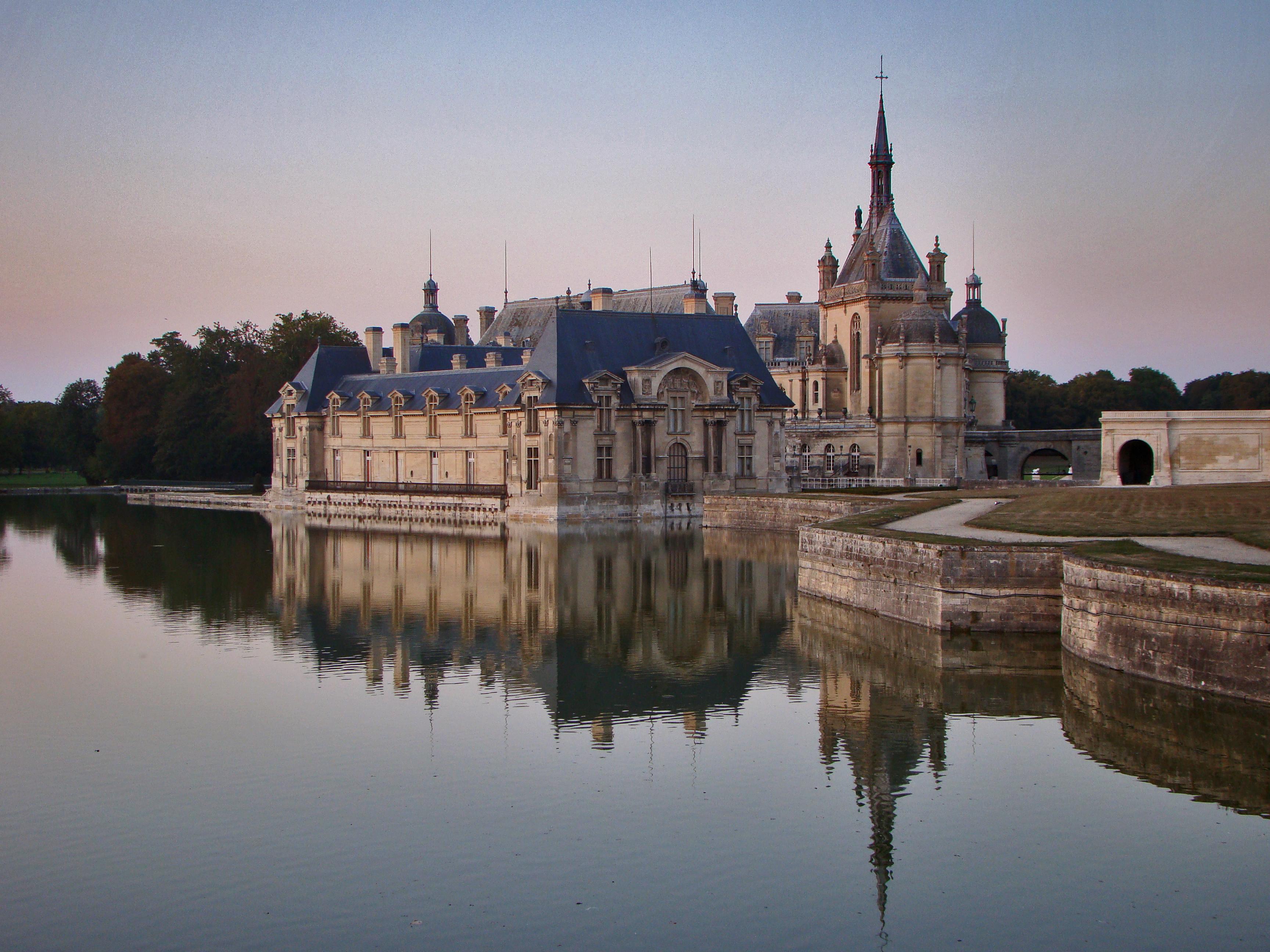 Chateau de Chantilly, Chantilly, France скачать