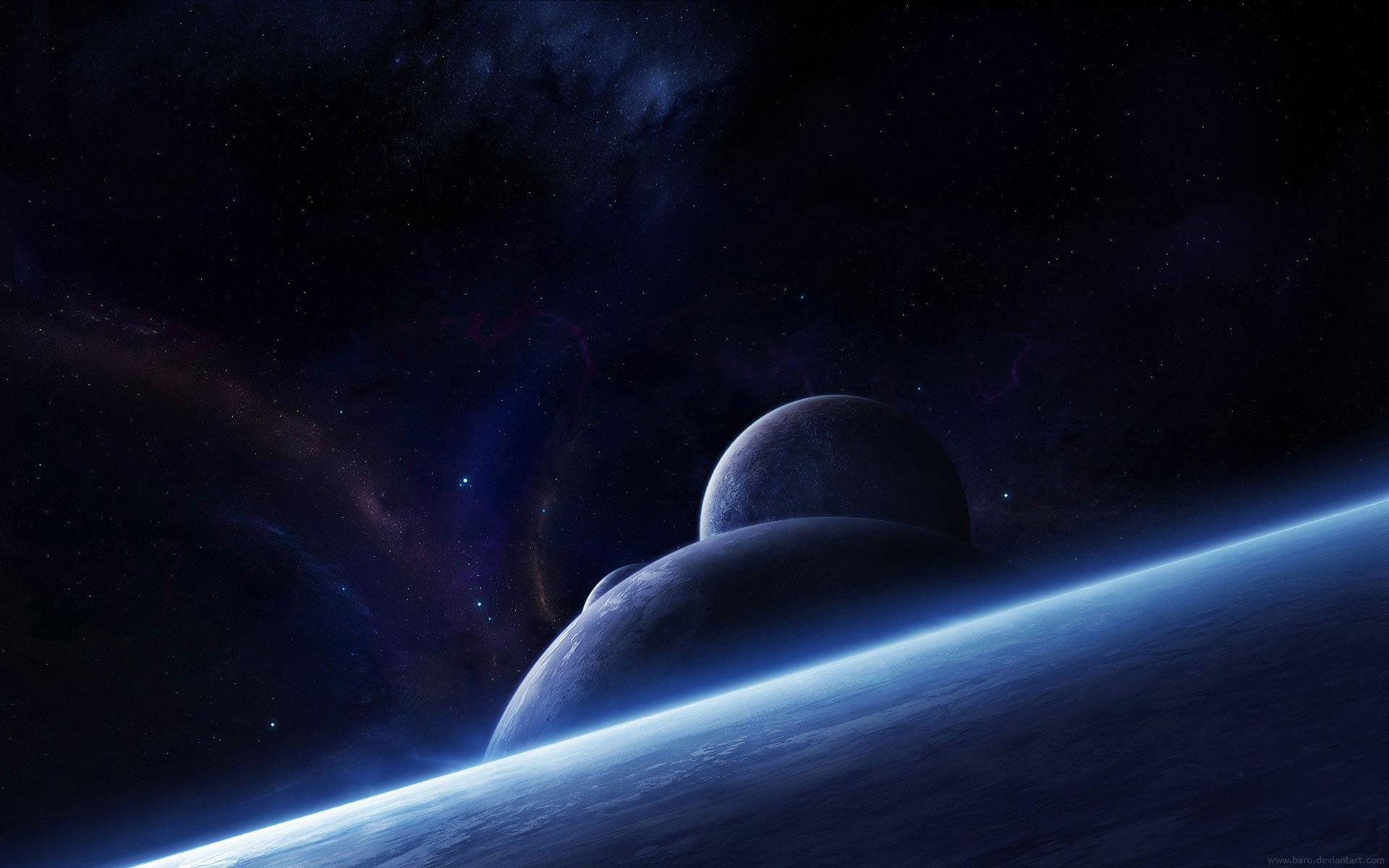 Обои планета космос орбита картинки на рабочий стол на тему Космос - скачать  № 1757045 бесплатно