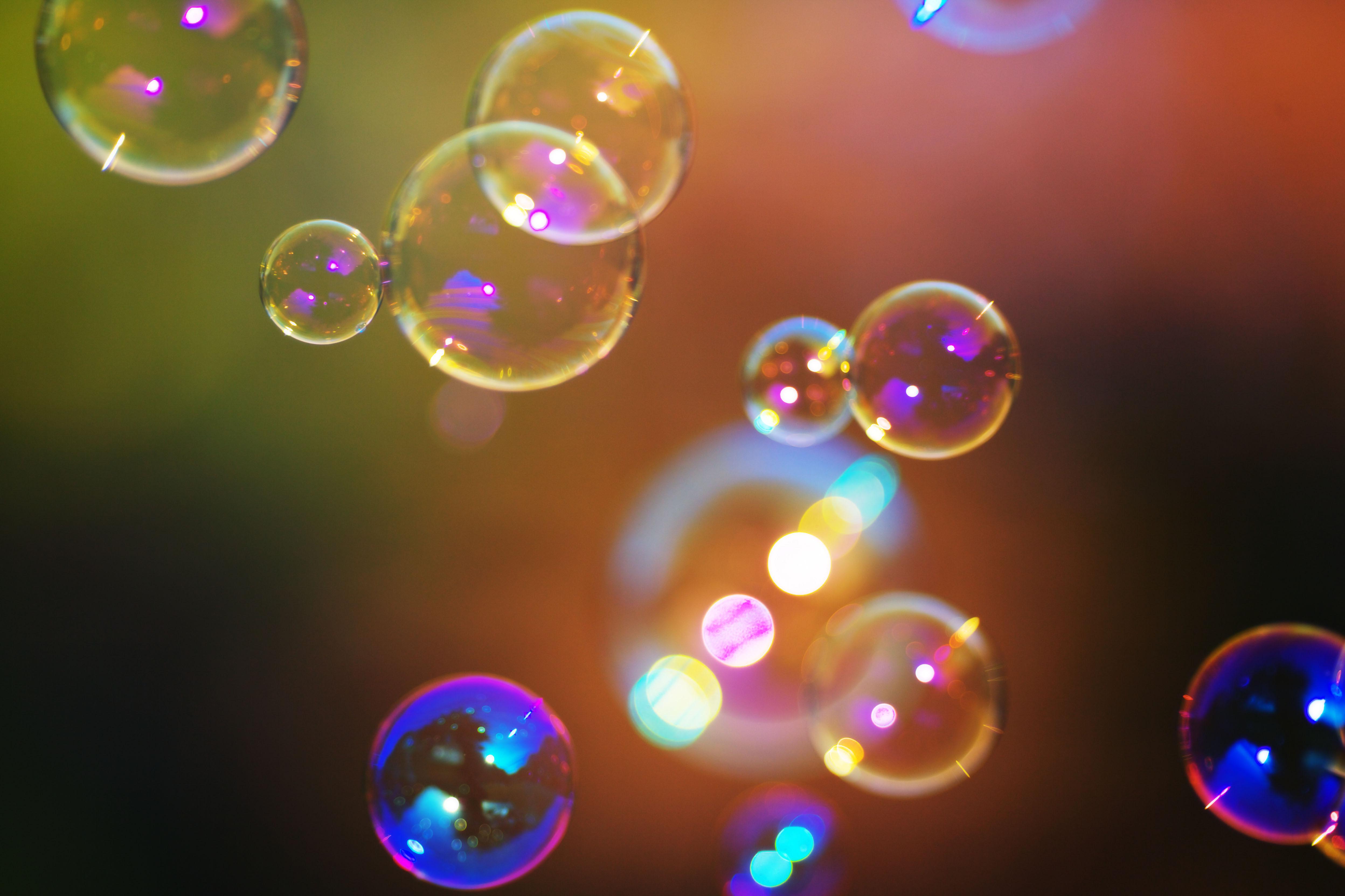 пузыри фон макро  № 3276005  скачать
