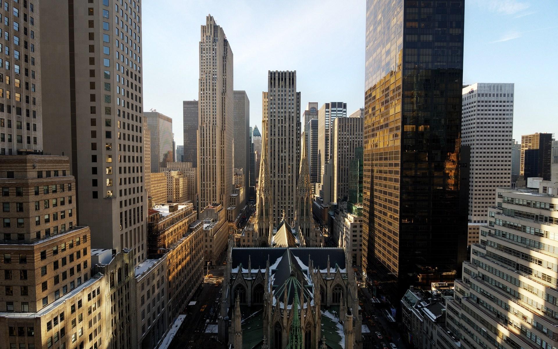 здания в Нью-Йорке скачать