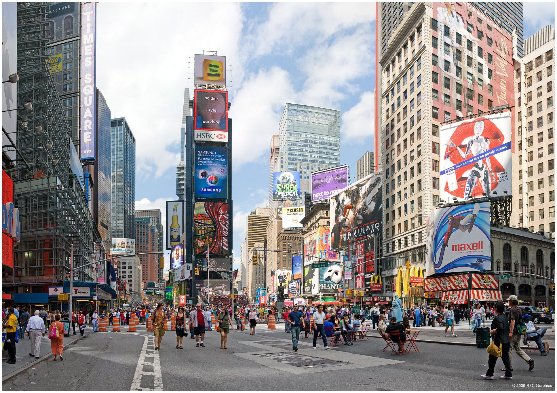 улочка в Нью-Йорке  № 1431581  скачать