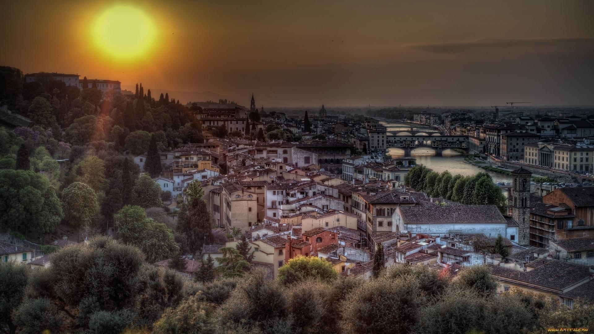 страны архитектура река Флоренция без регистрации