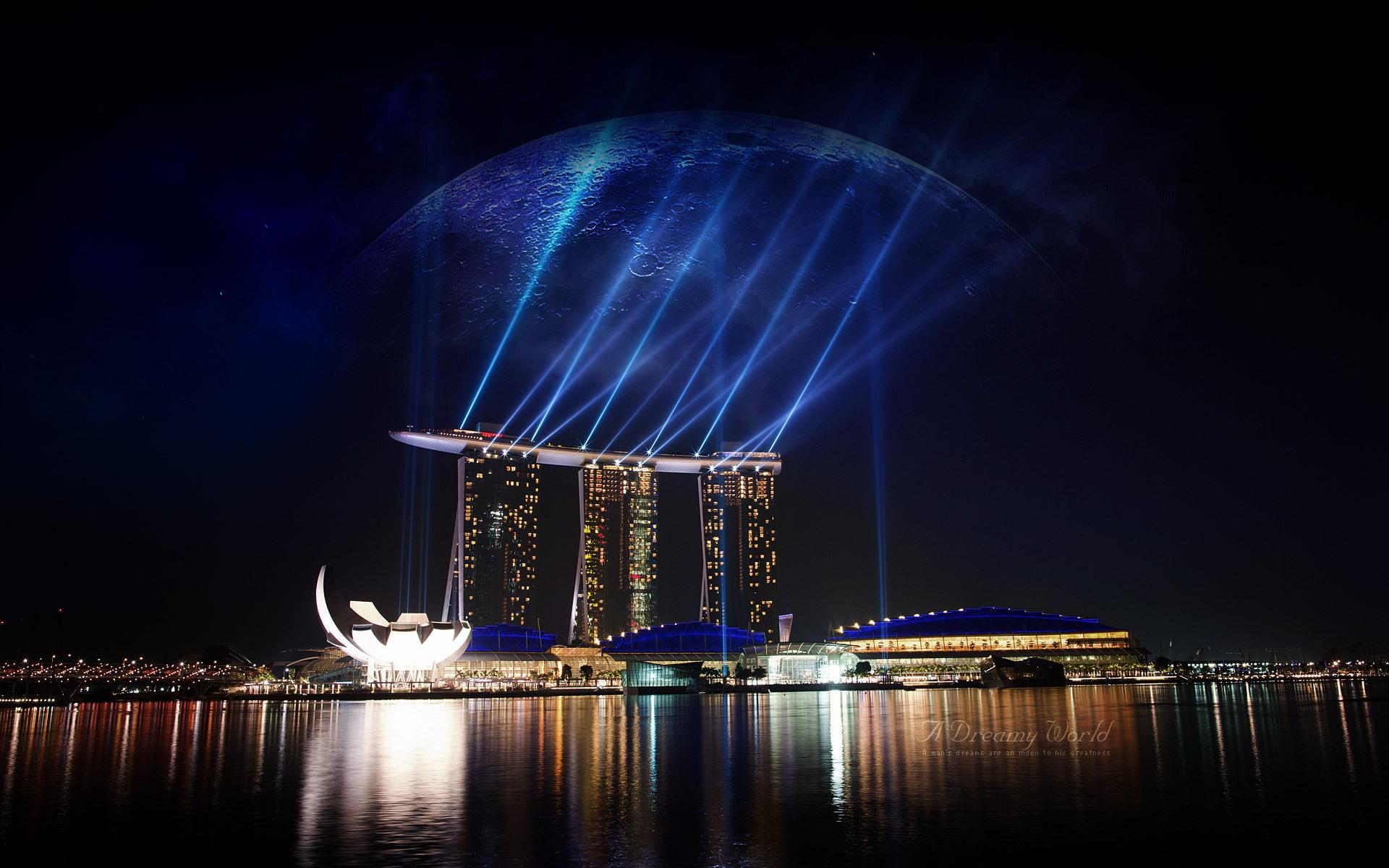 страны архитектура Сингапур отель  № 941453 загрузить