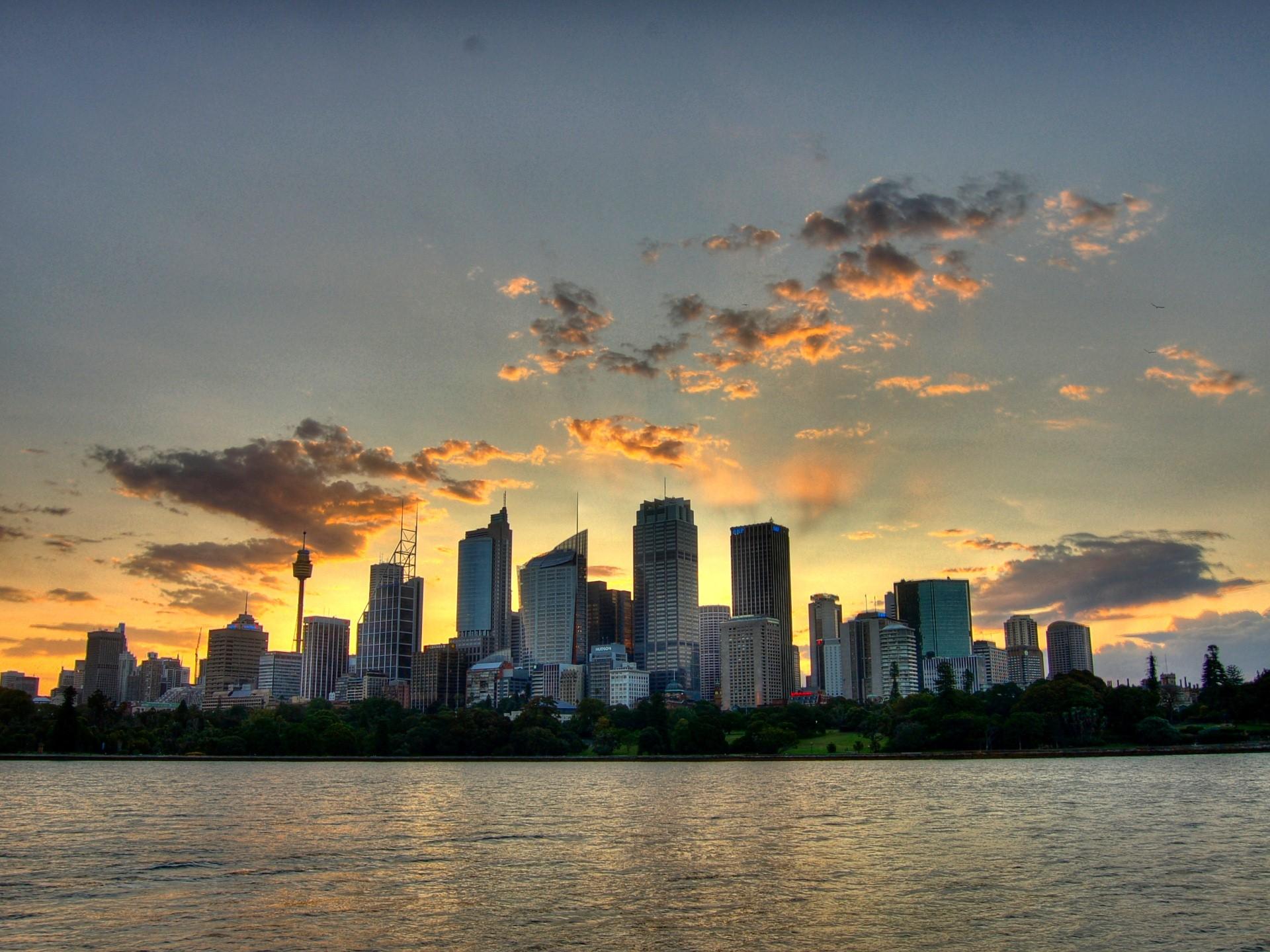 город небо рассвет загрузить