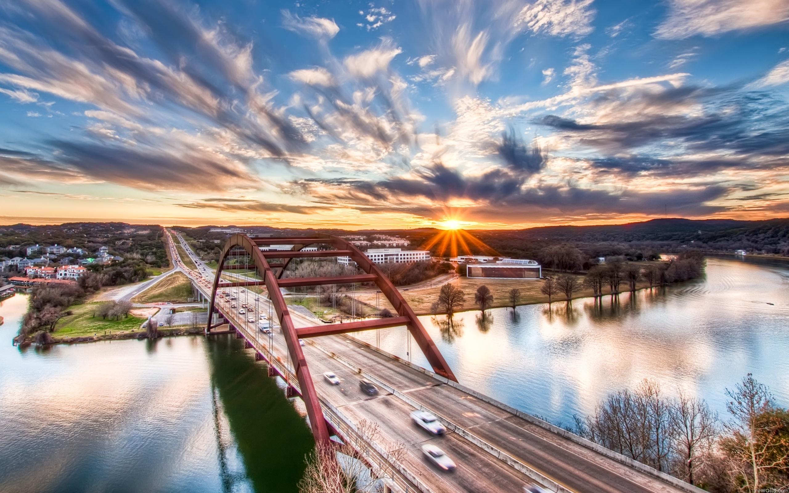 Город мост через реку  № 3713125 без смс