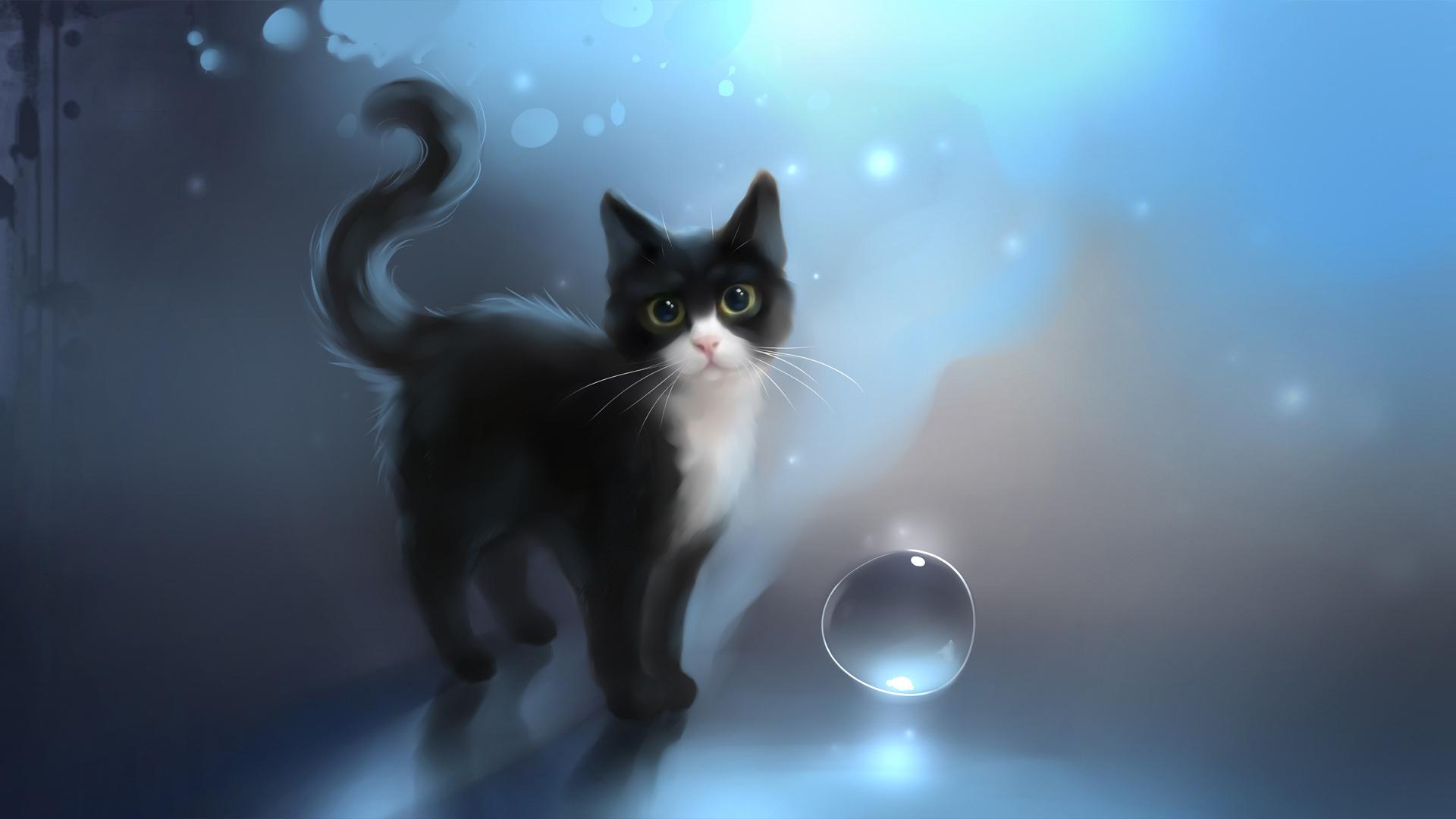 Надписью музыка, живые картинки для кошек на компьютере
