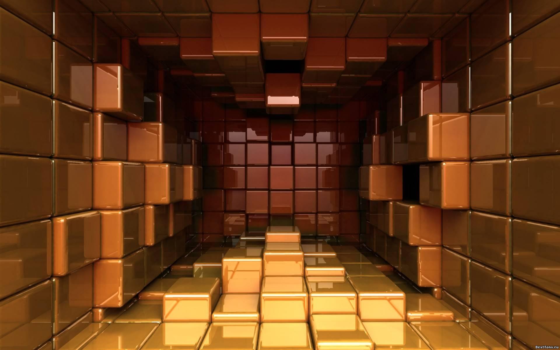 куб 3D бесплатно