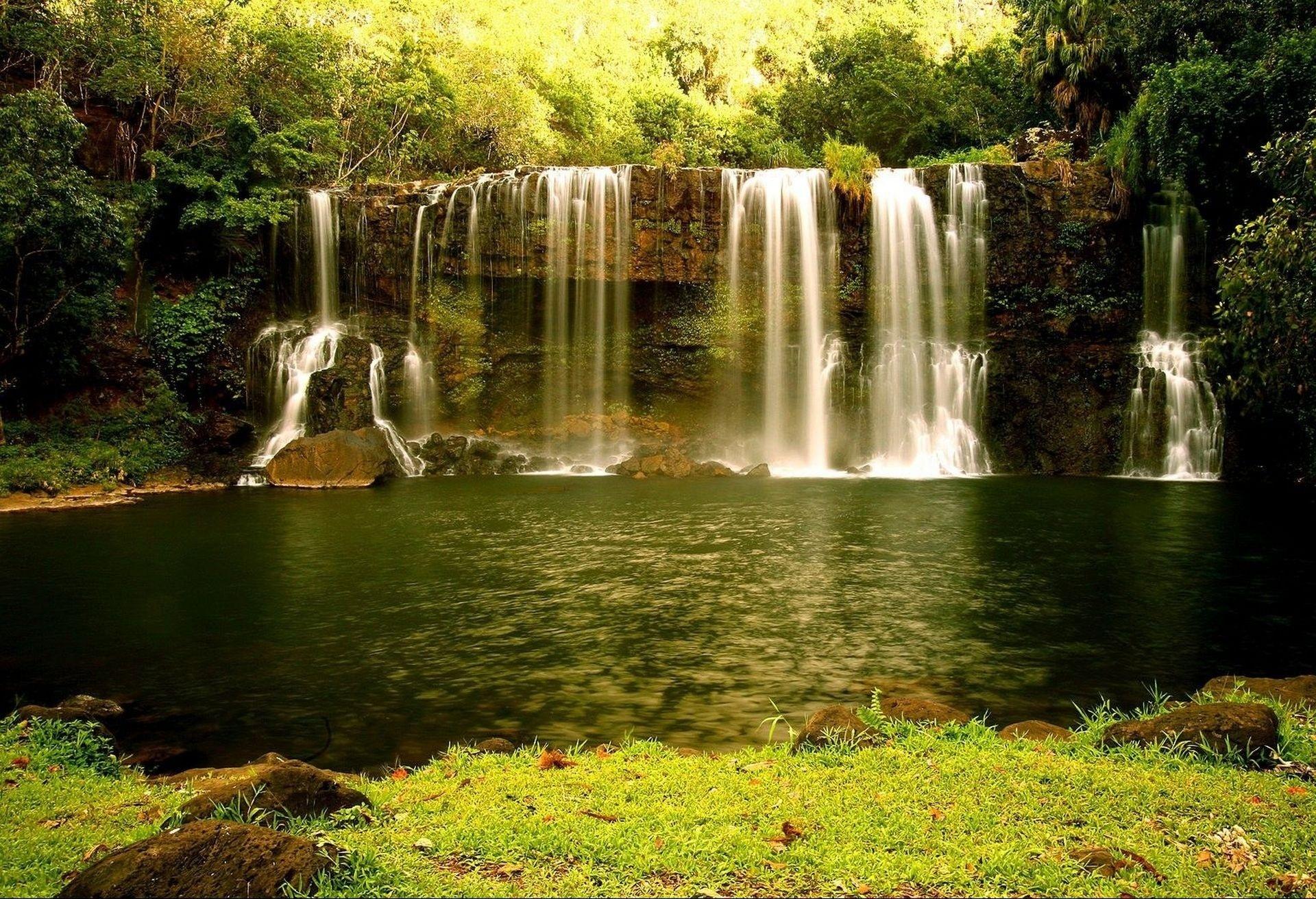 природа водопад  № 394138 загрузить
