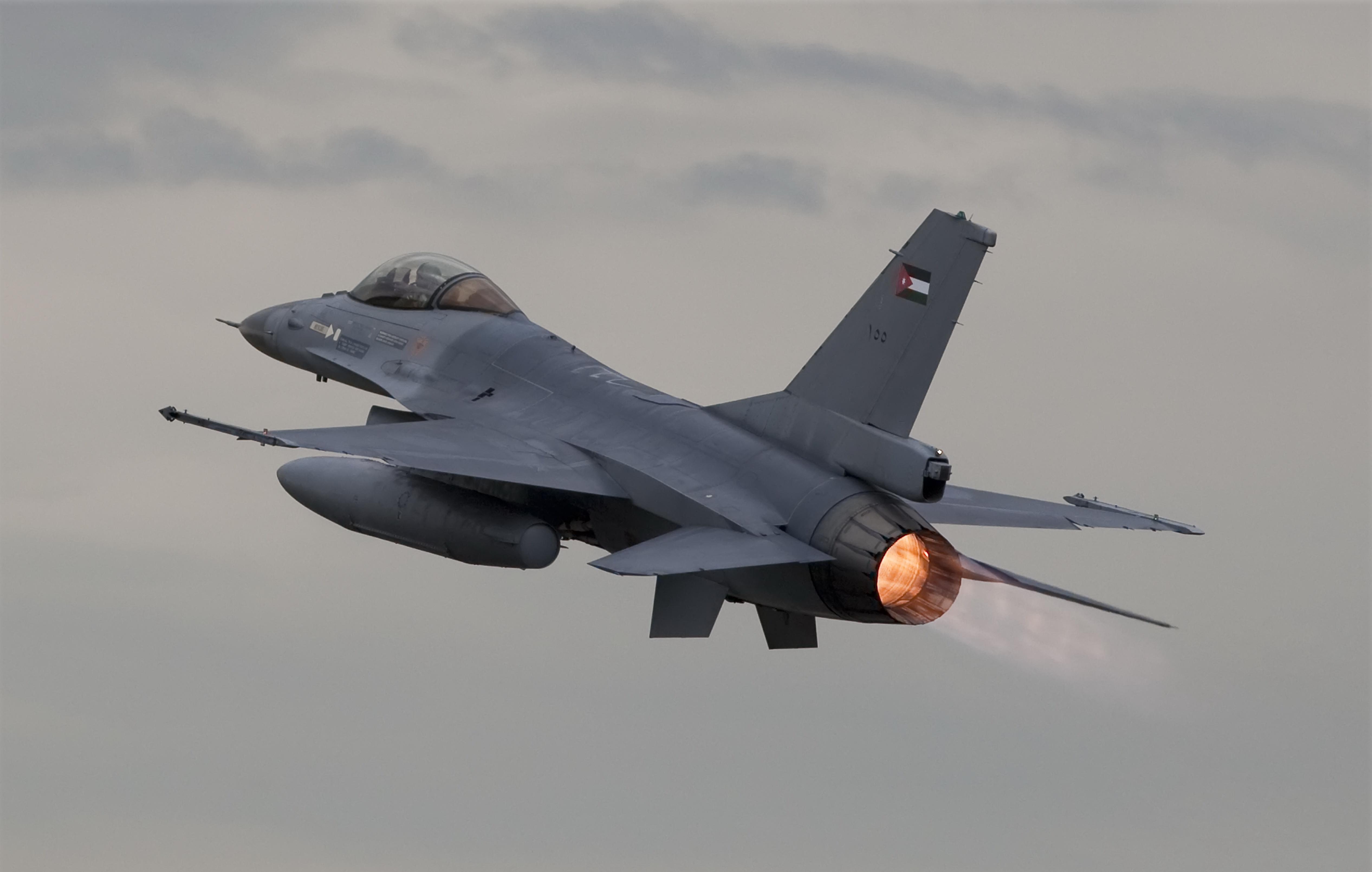 авиация самолет желтый F-16 Fighting Falcon  № 3755565 загрузить