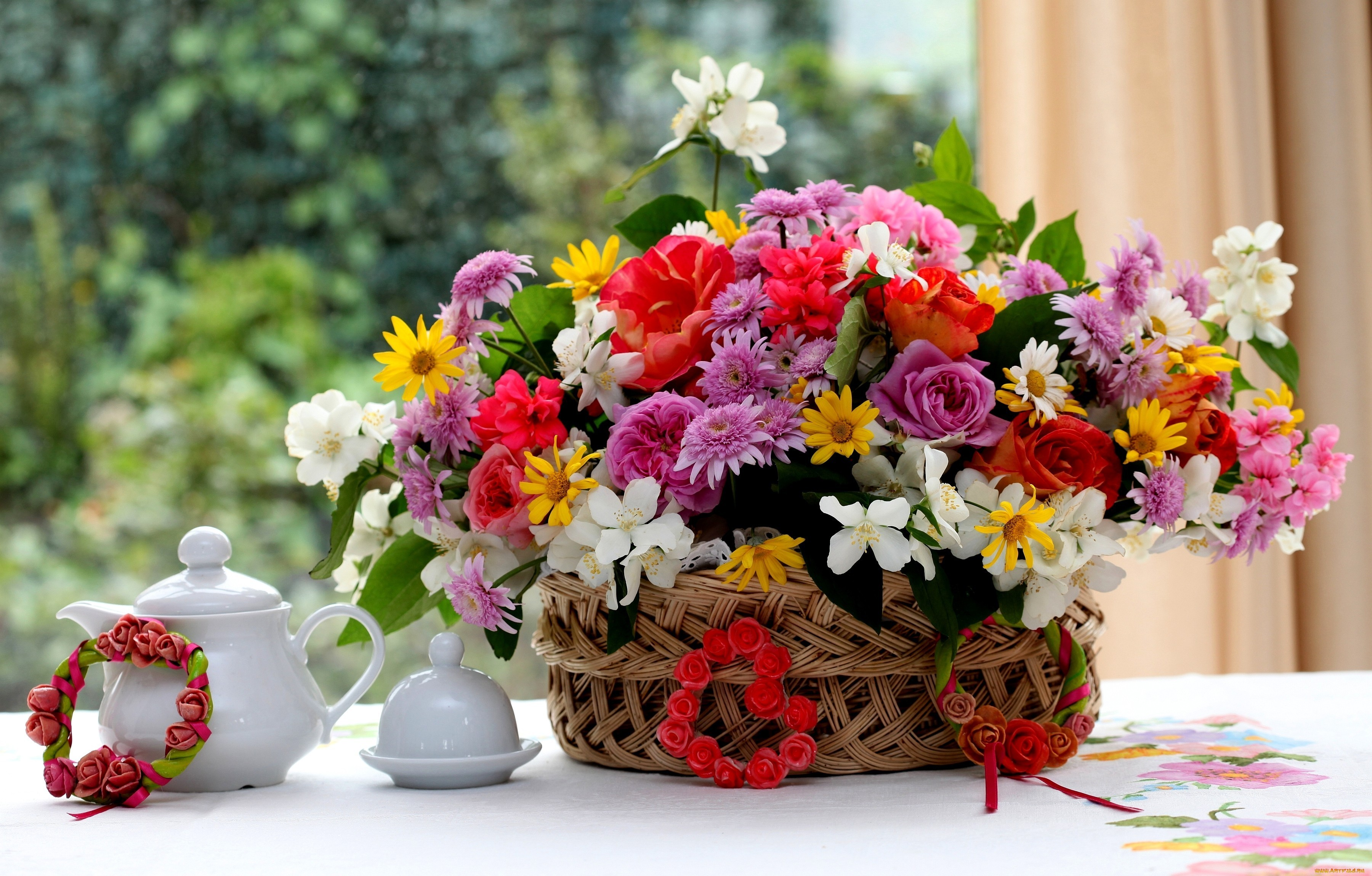 букет цветы bouquet flowers скачать