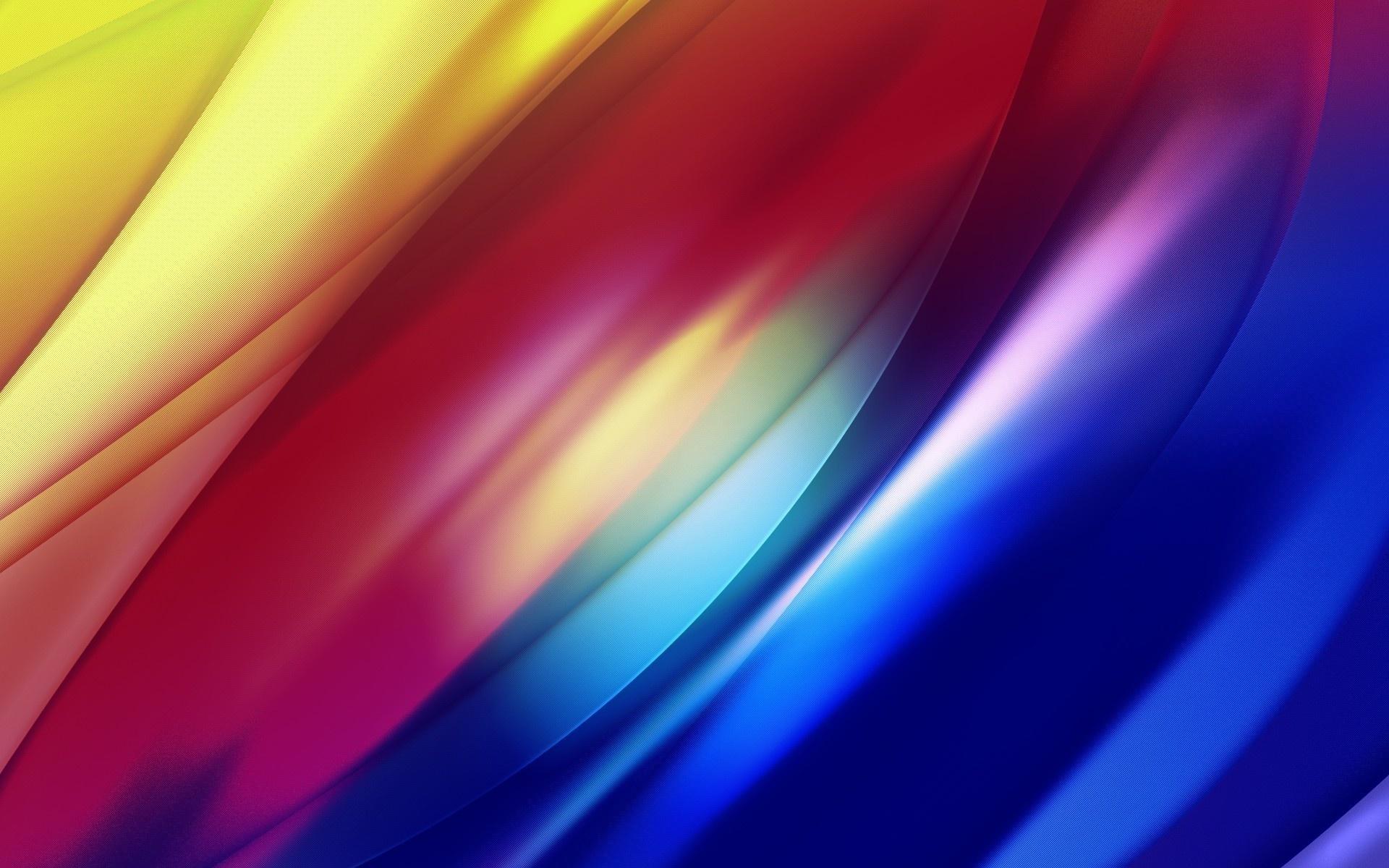 Абстрактные цветные волны загрузить