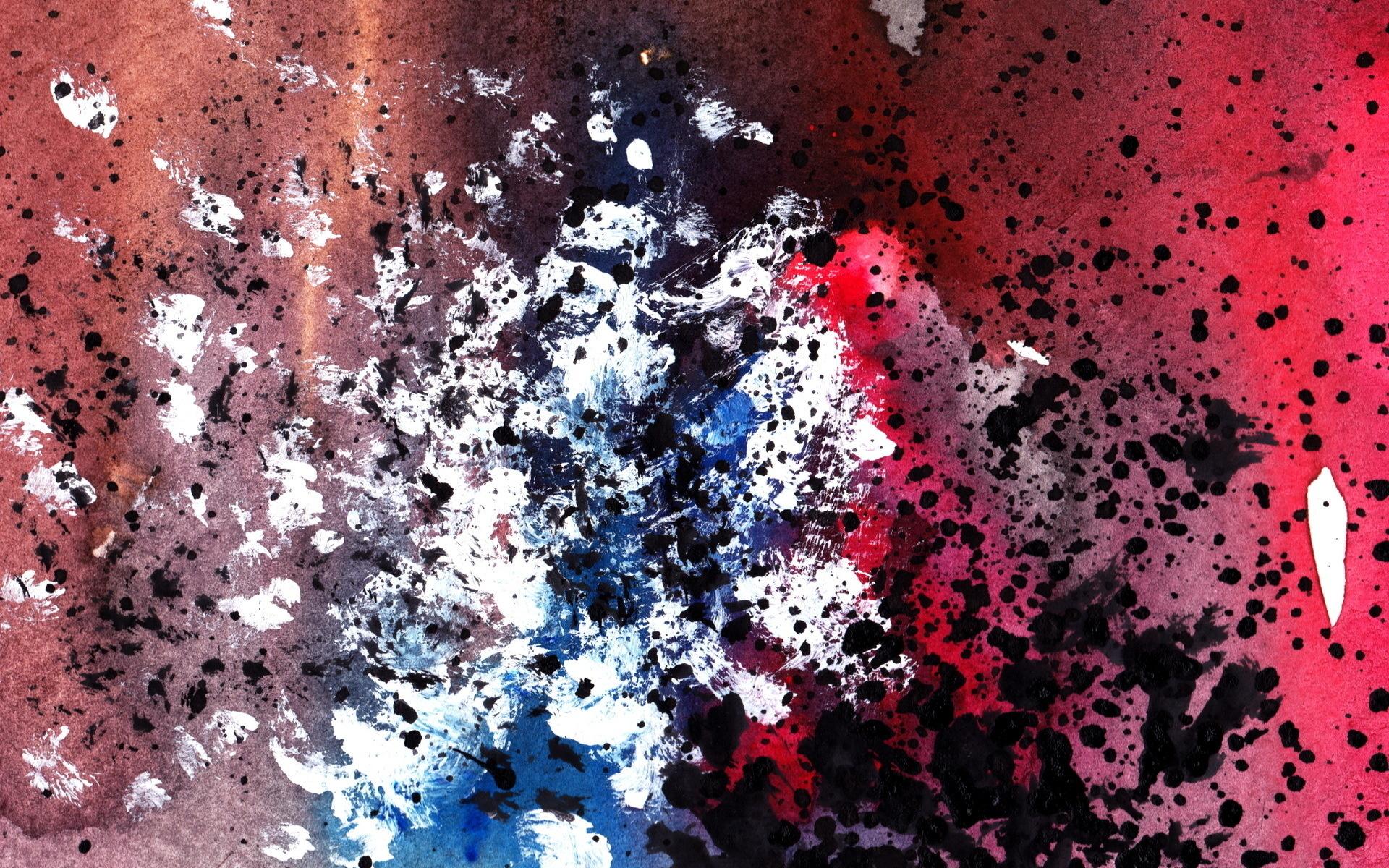 Кляксы цвета случайные загрузить