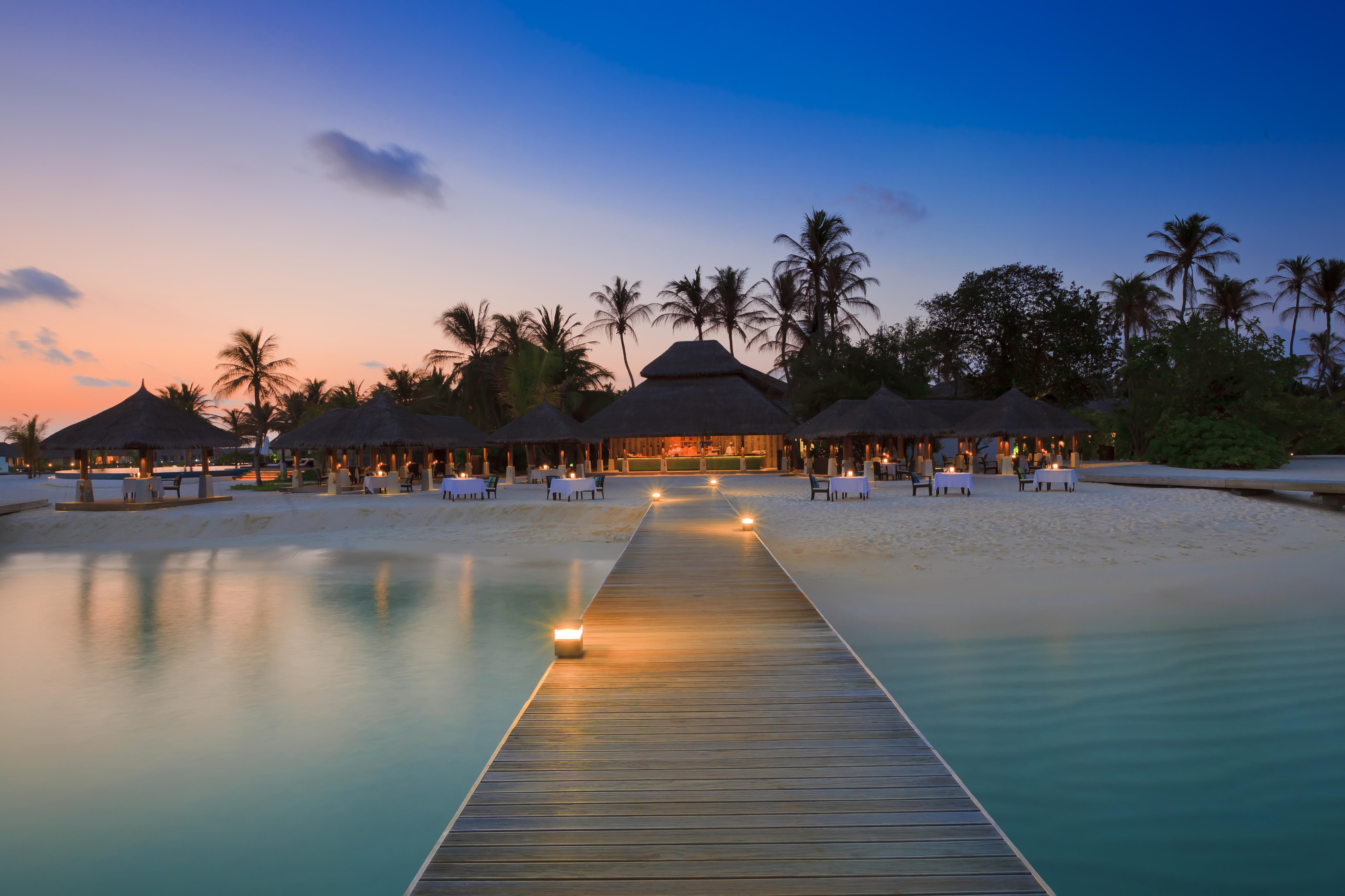 Мальдивы номера отеля отдых The Maldives the rooms the rest  № 334031 без смс