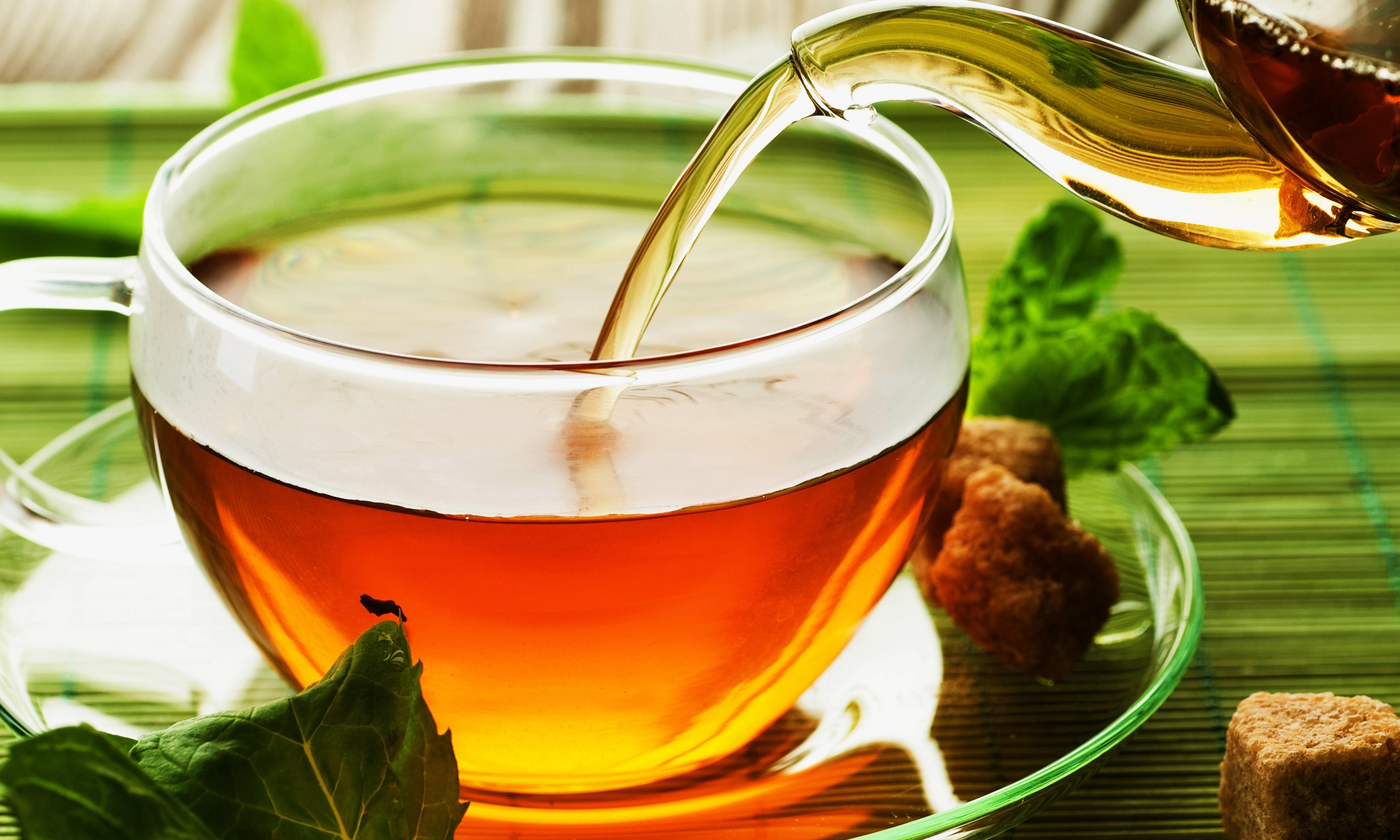 cup of tea - HD