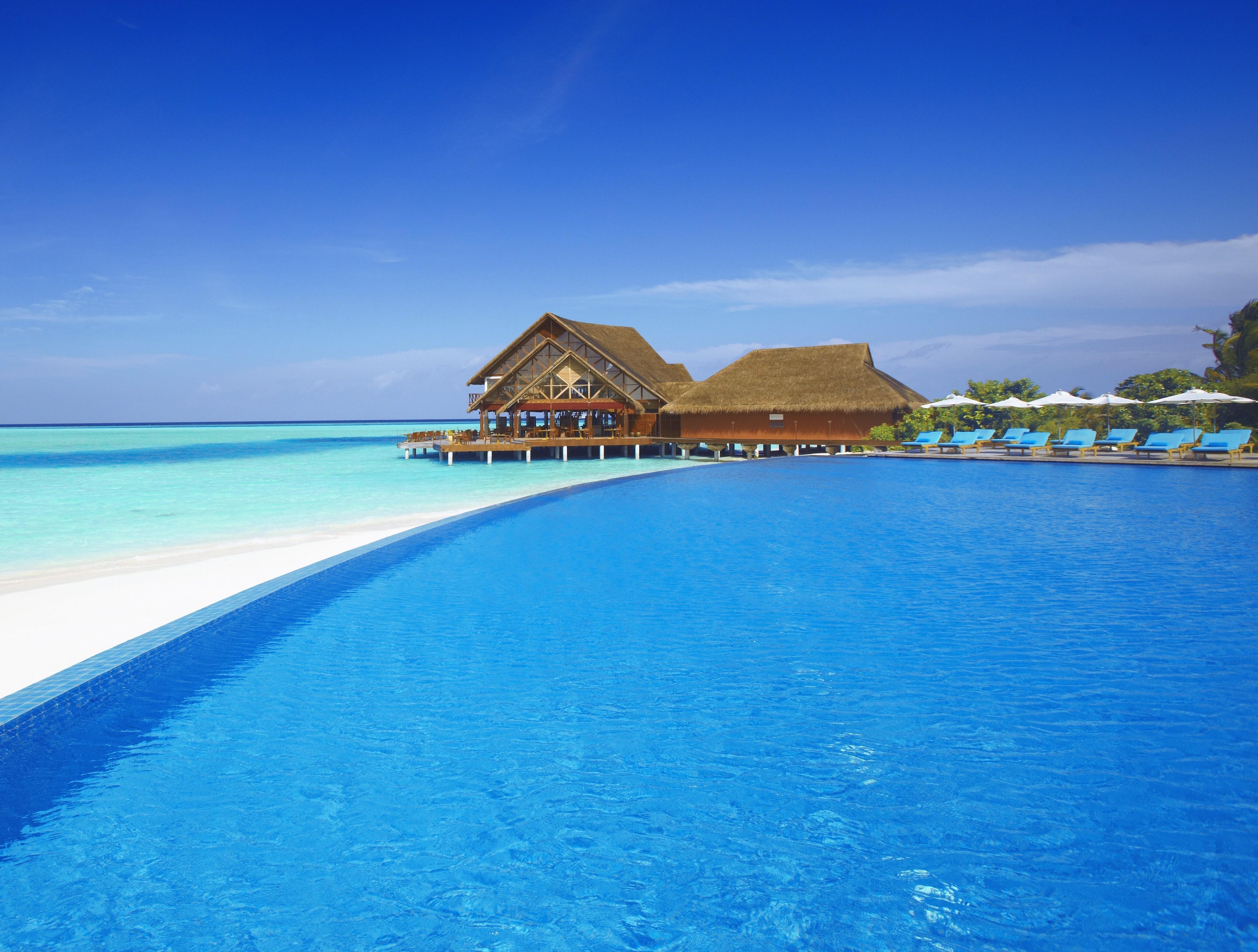 природа бассейн отдых море nature pool the rest sea  № 3546025 загрузить