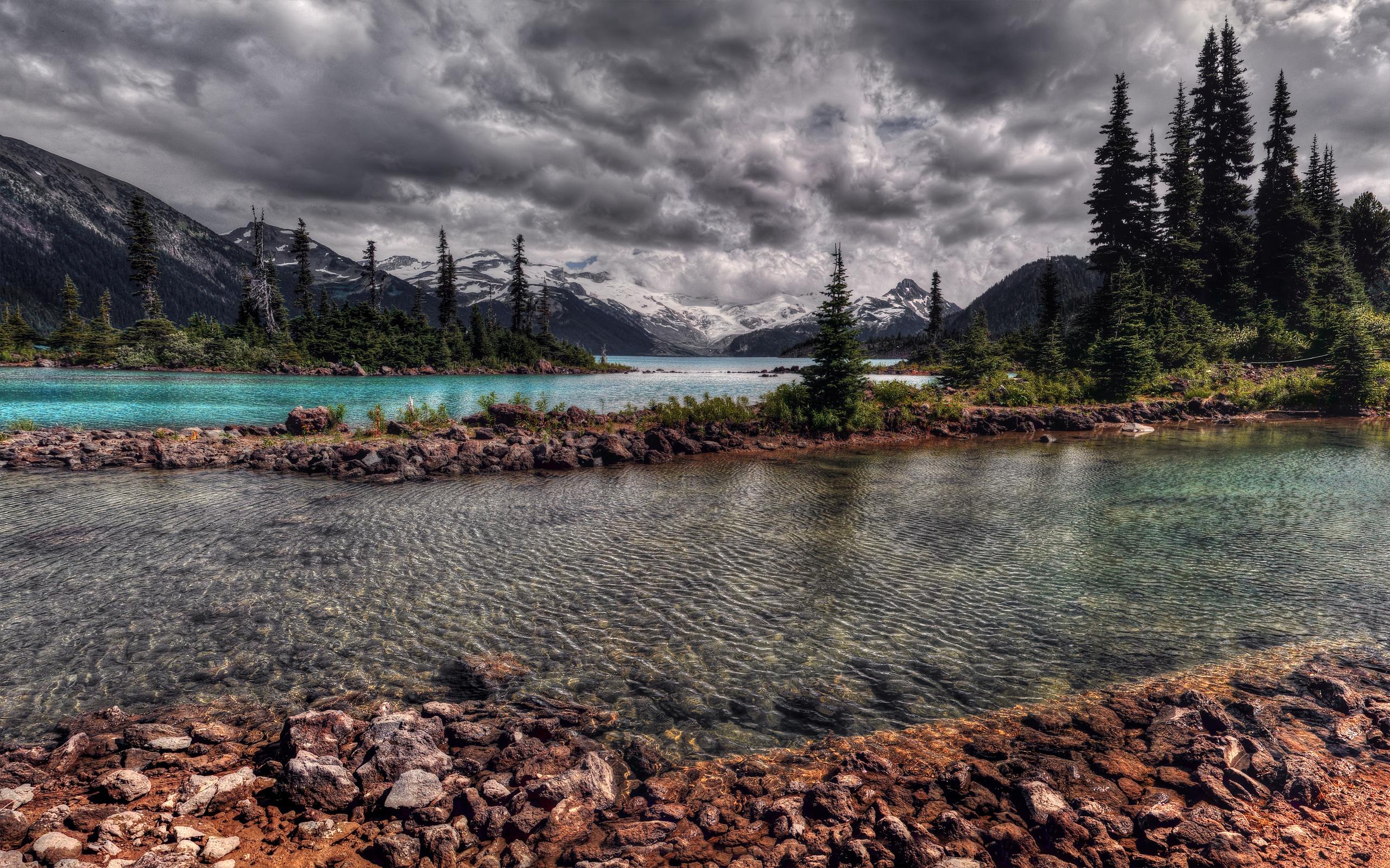 Озеро перед горой без смс