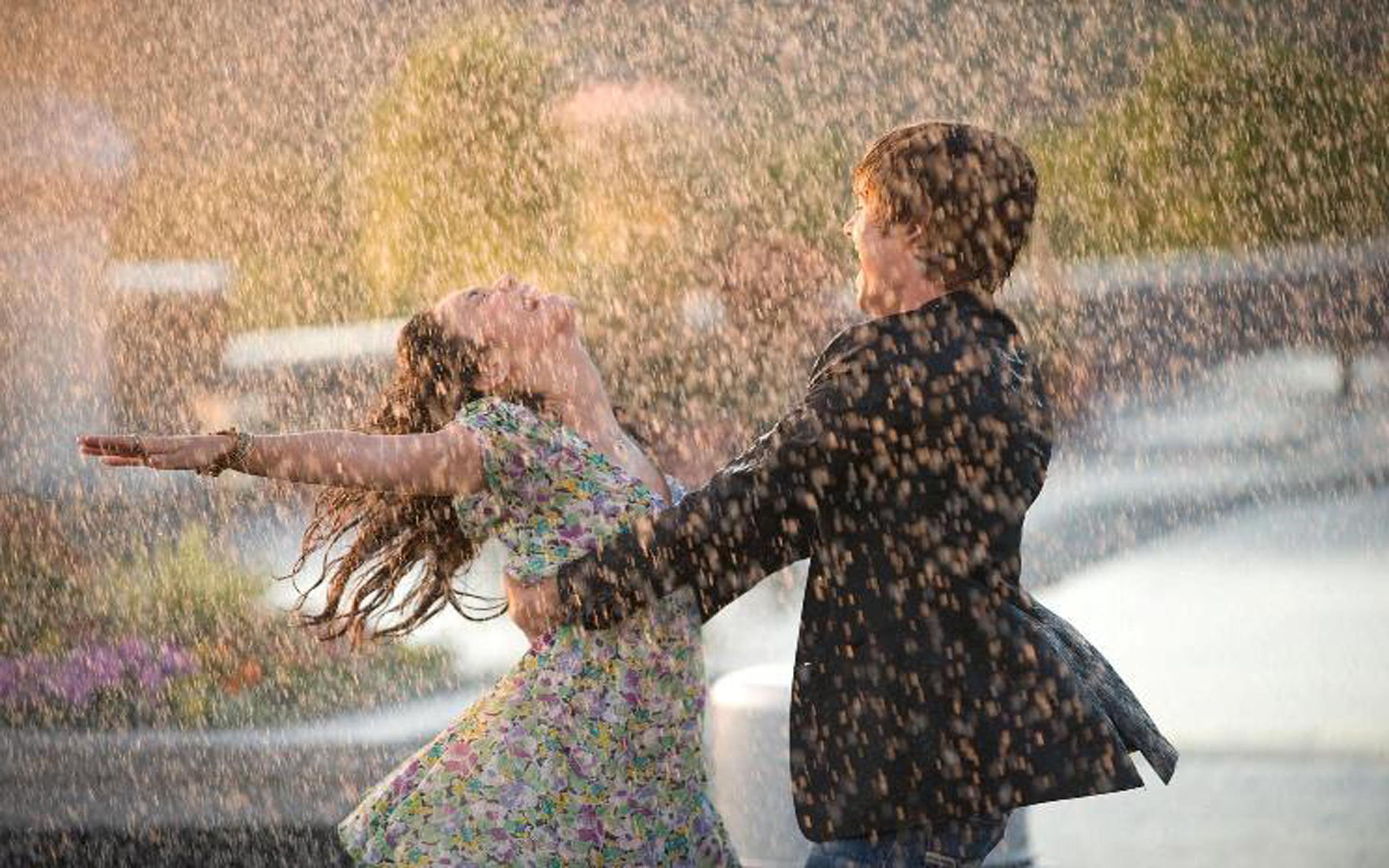 скачать картинку под дождем