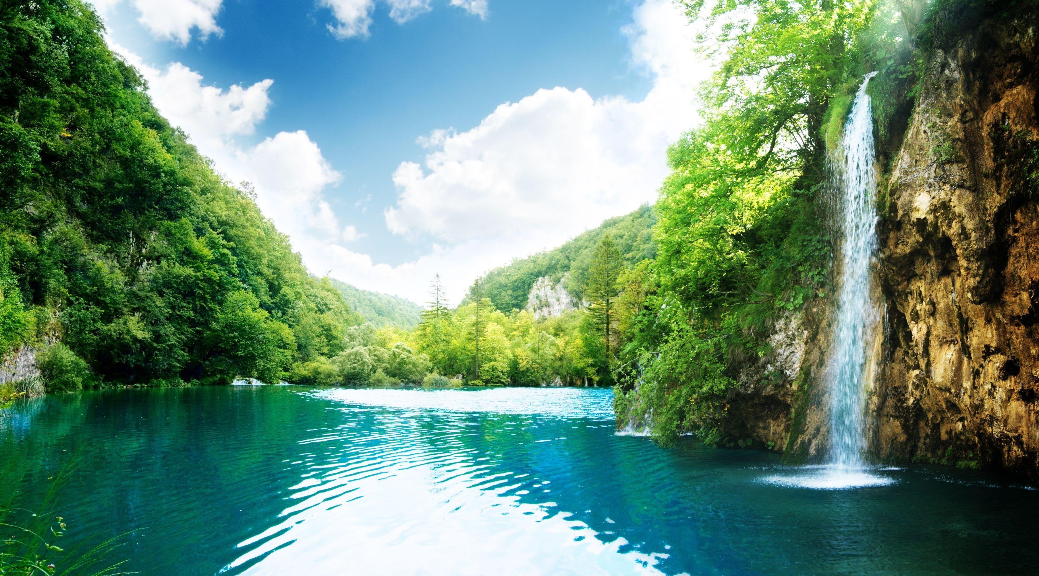 природа водопад  № 394076 загрузить