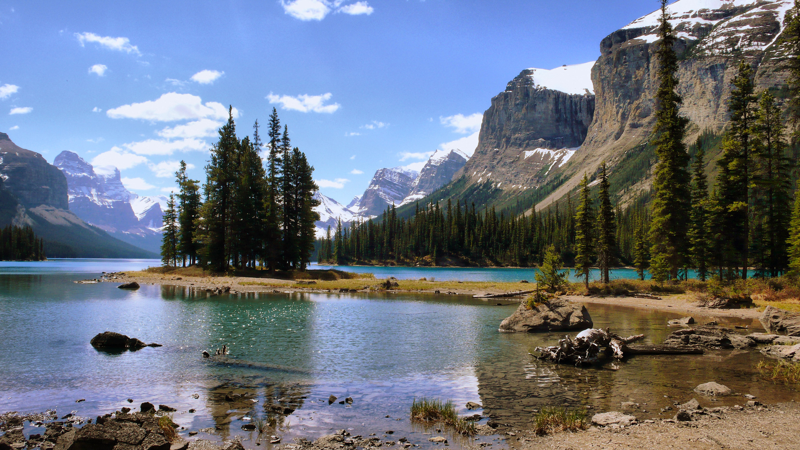 природа деревья озеро горы скалы nature trees the lake mountains rock  № 400432 загрузить