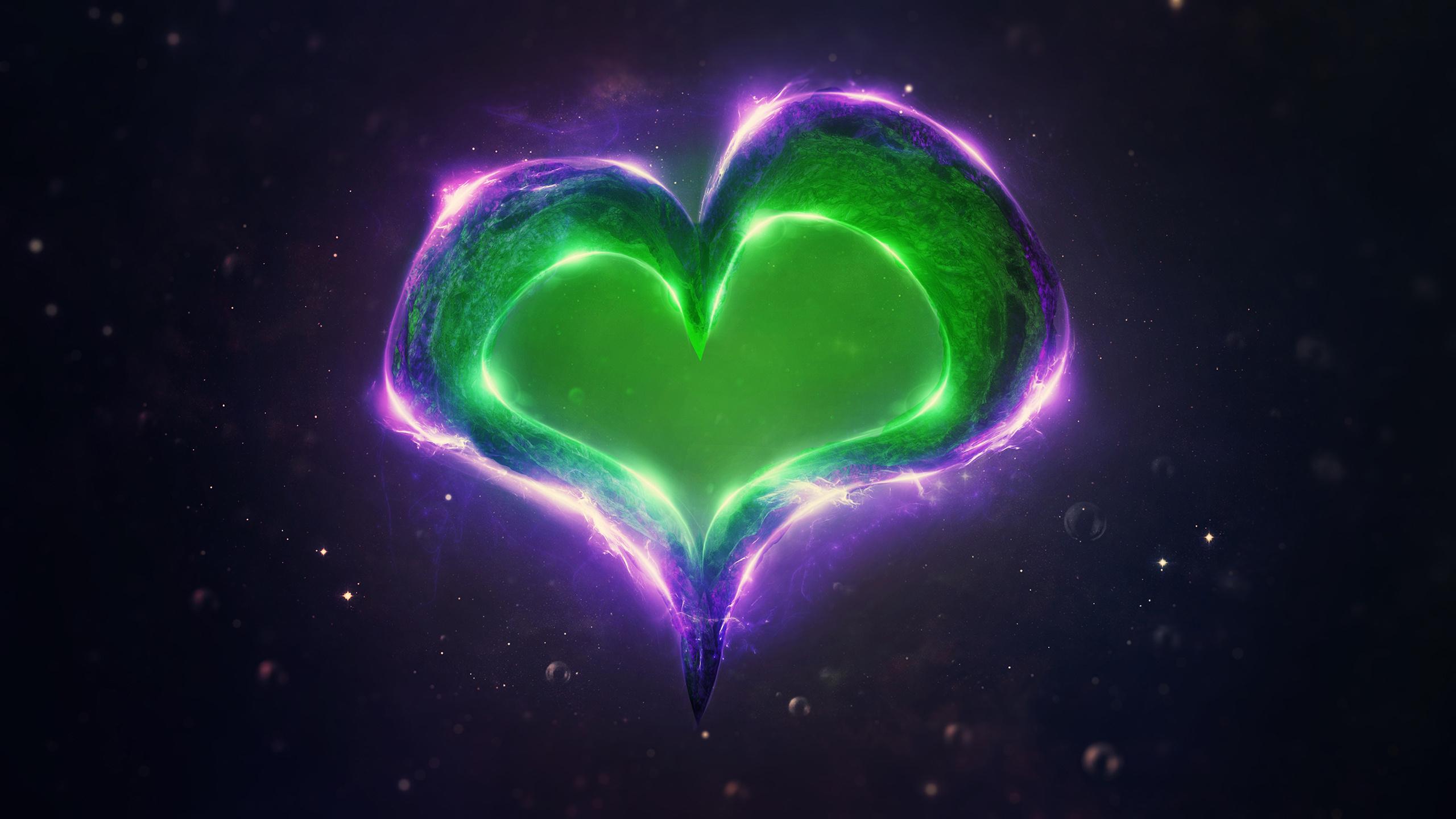 Светящееся сердце без смс