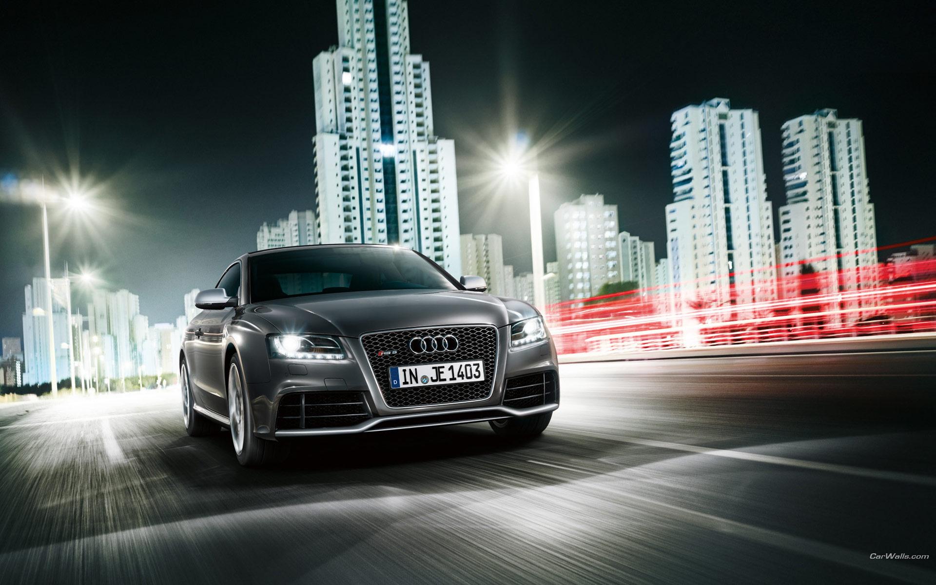 Audi седан здание загрузить