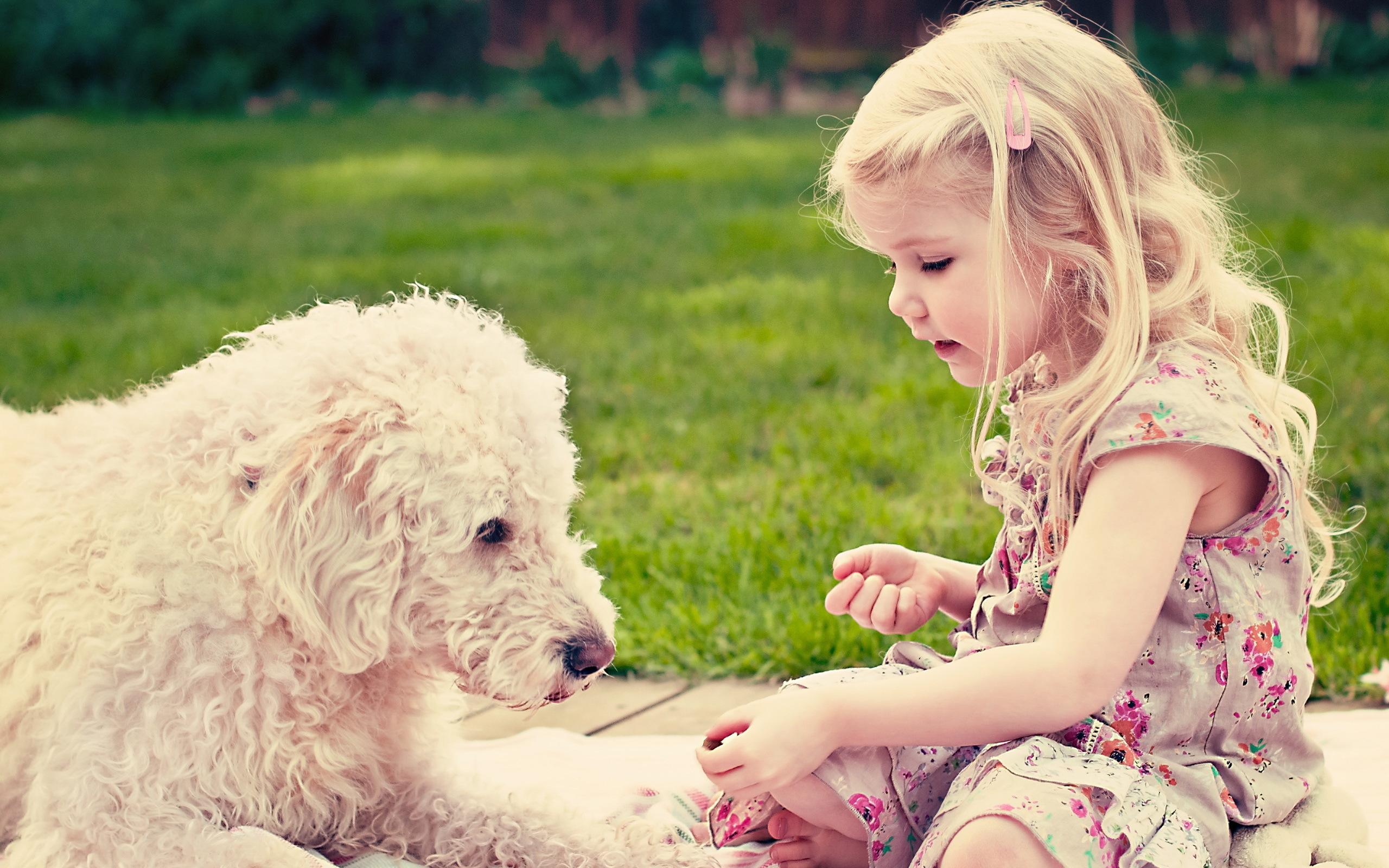 девушка со щенком без смс