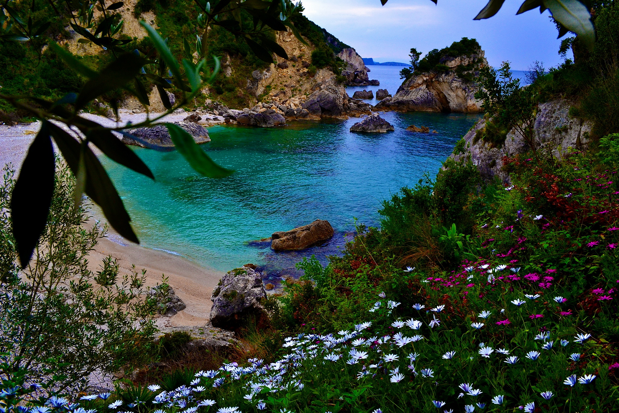 фото красивой морской природы