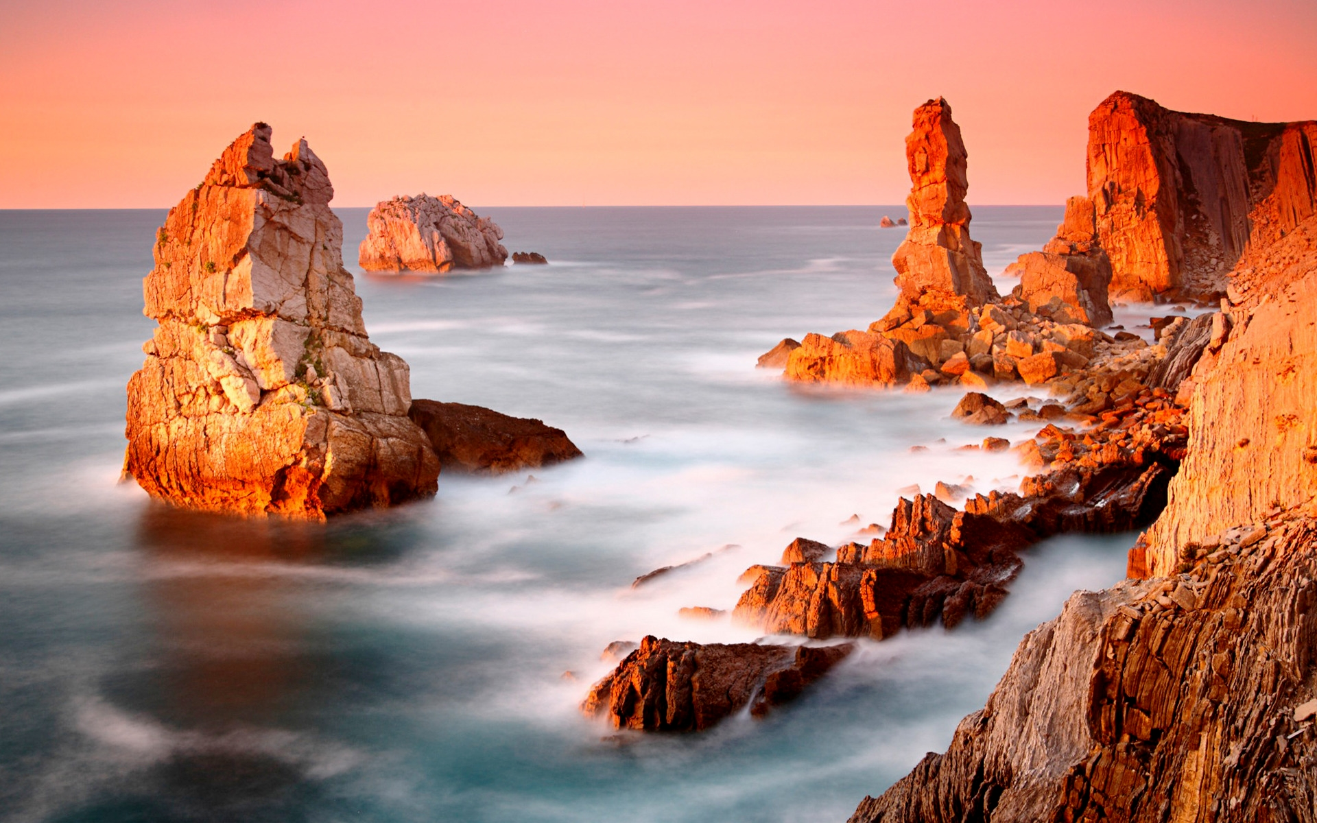 Скалы море природа  № 3800449 без смс