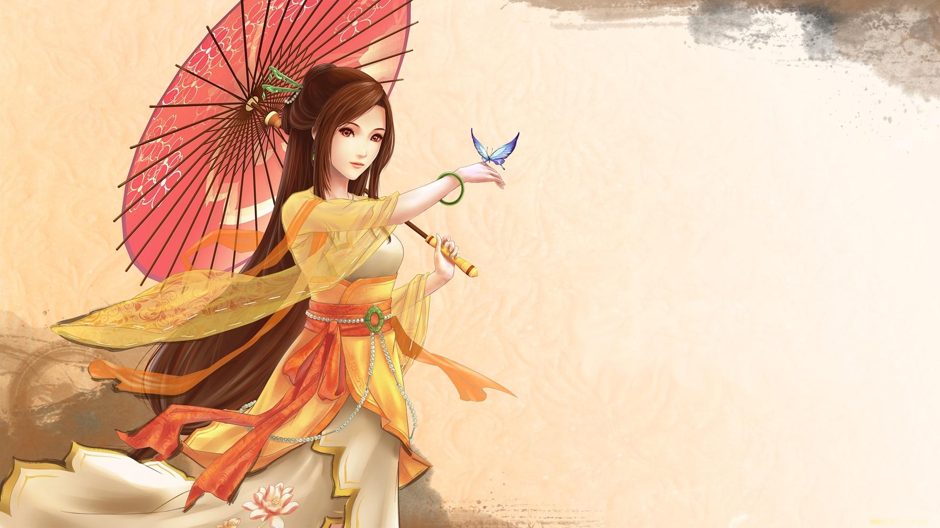 Japanese girls anime, mature ladies and video