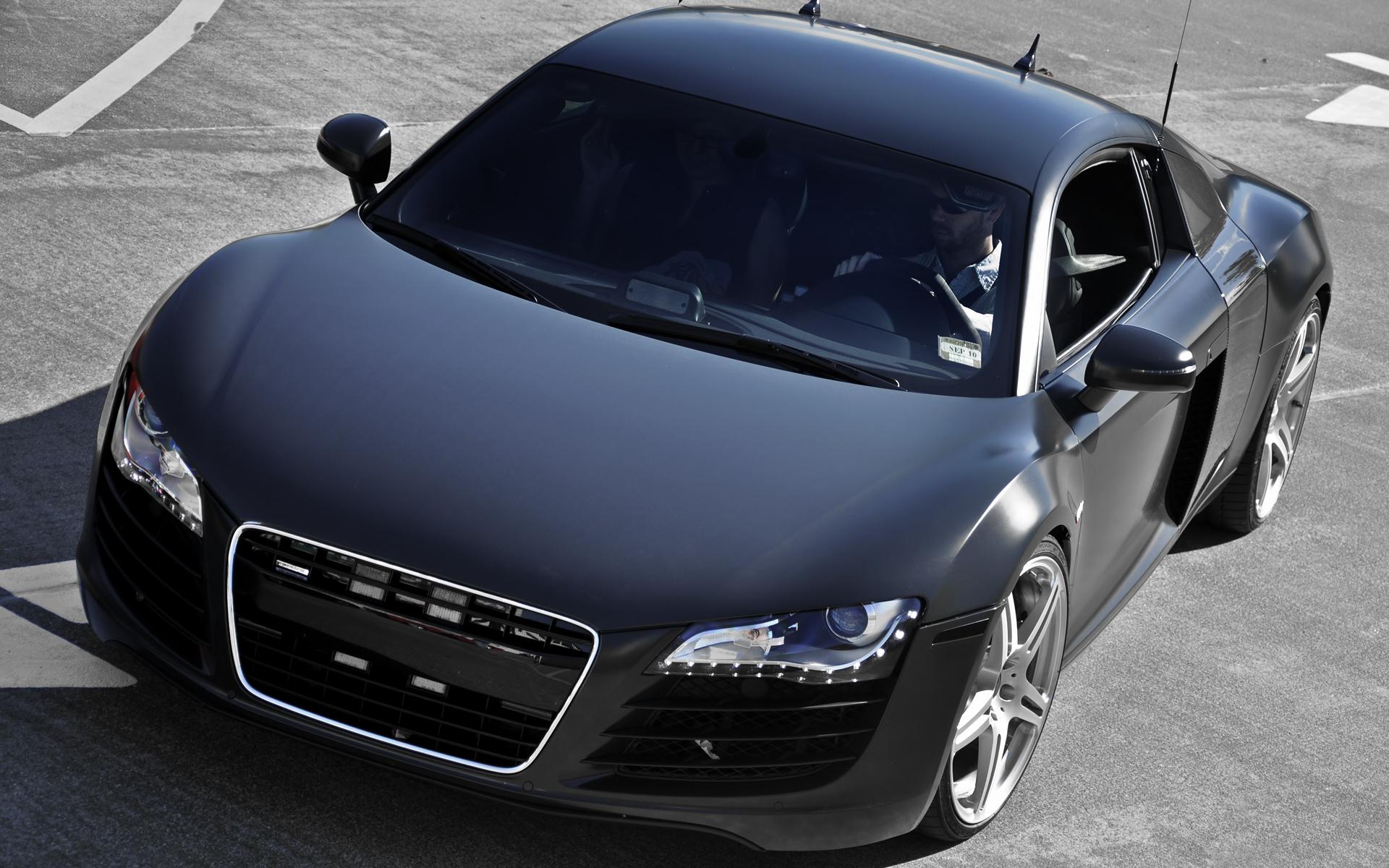 Матово-черный авто бесплатно