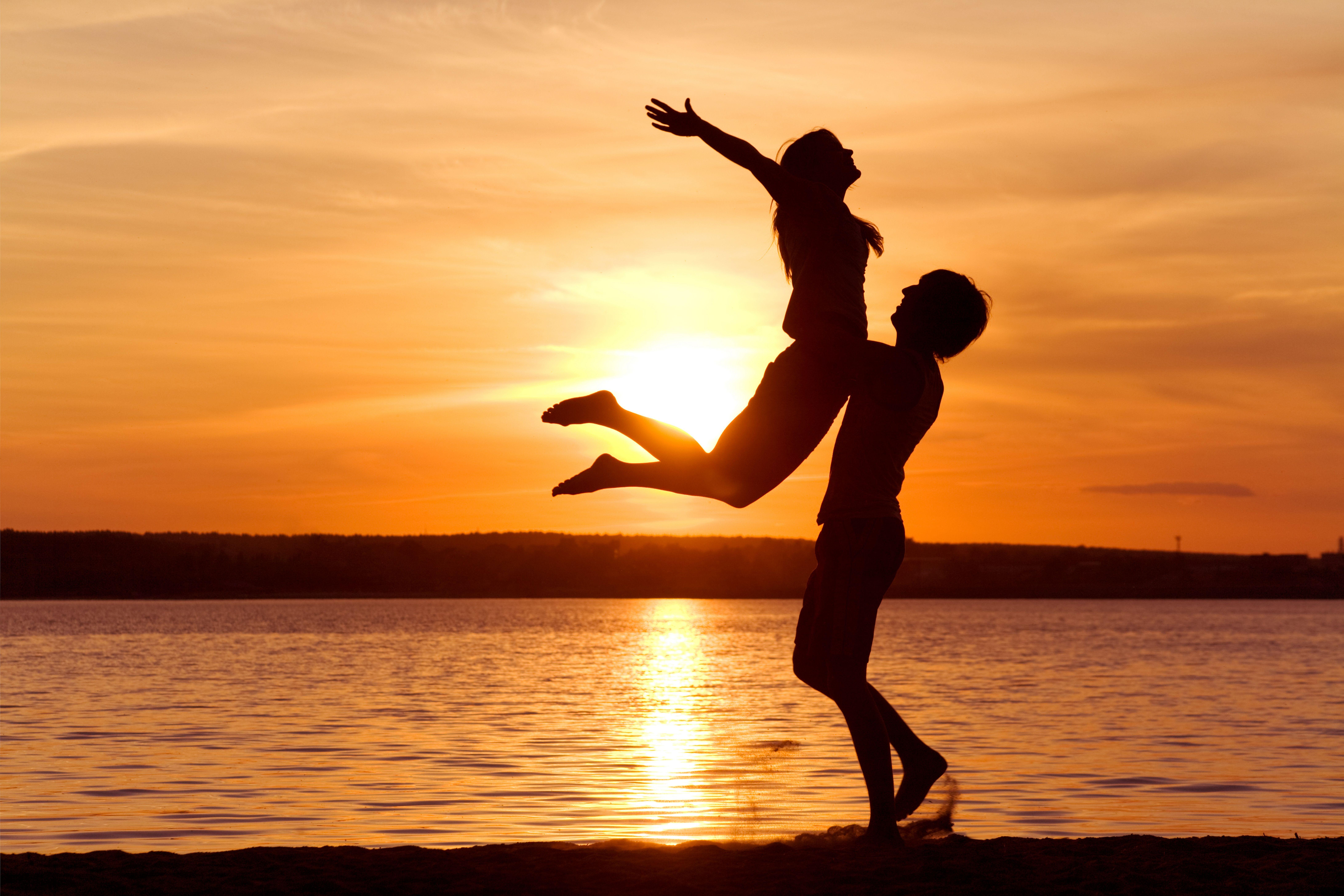Красивые романтические картинки он и она