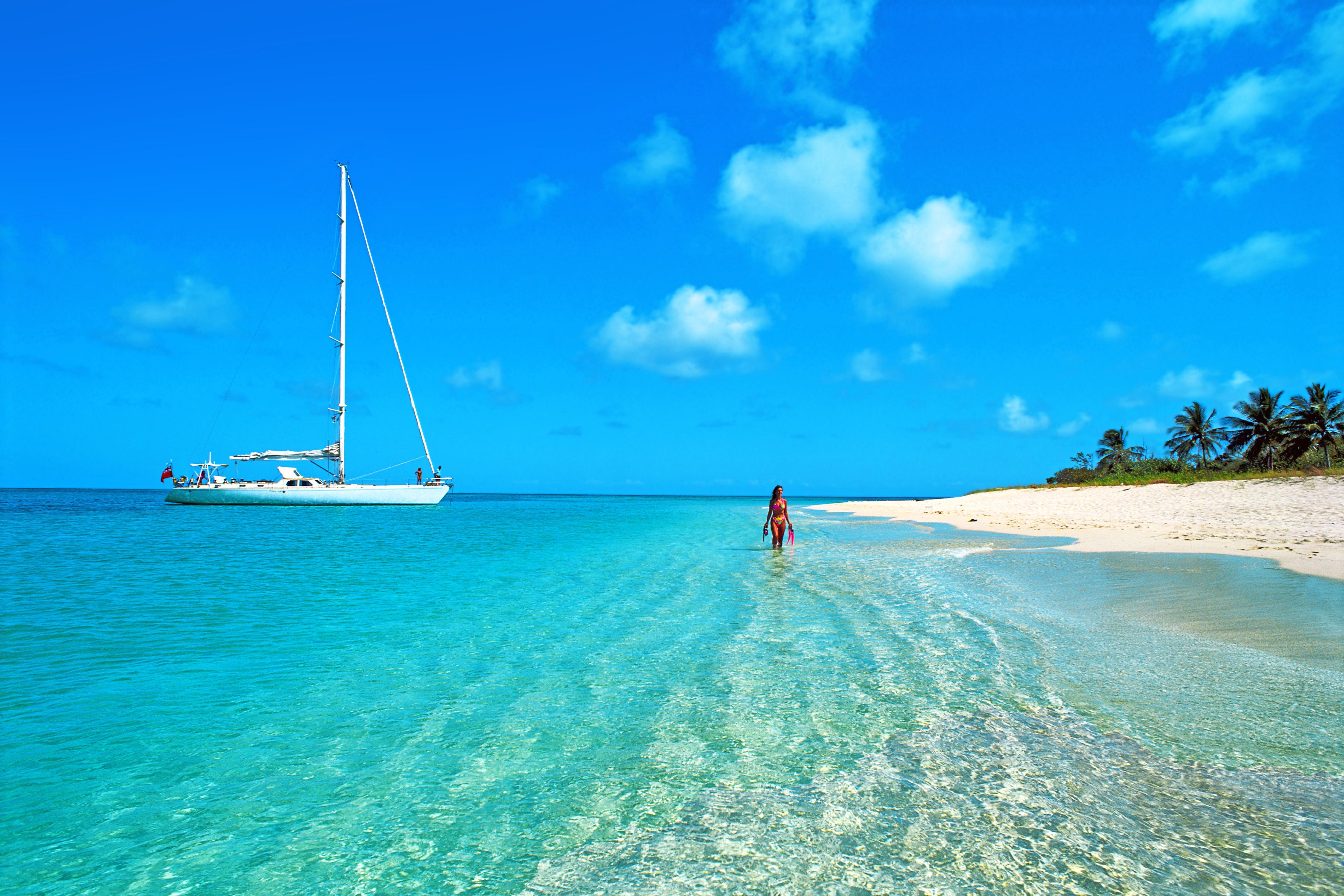позволяет фото яхта море пляж ним