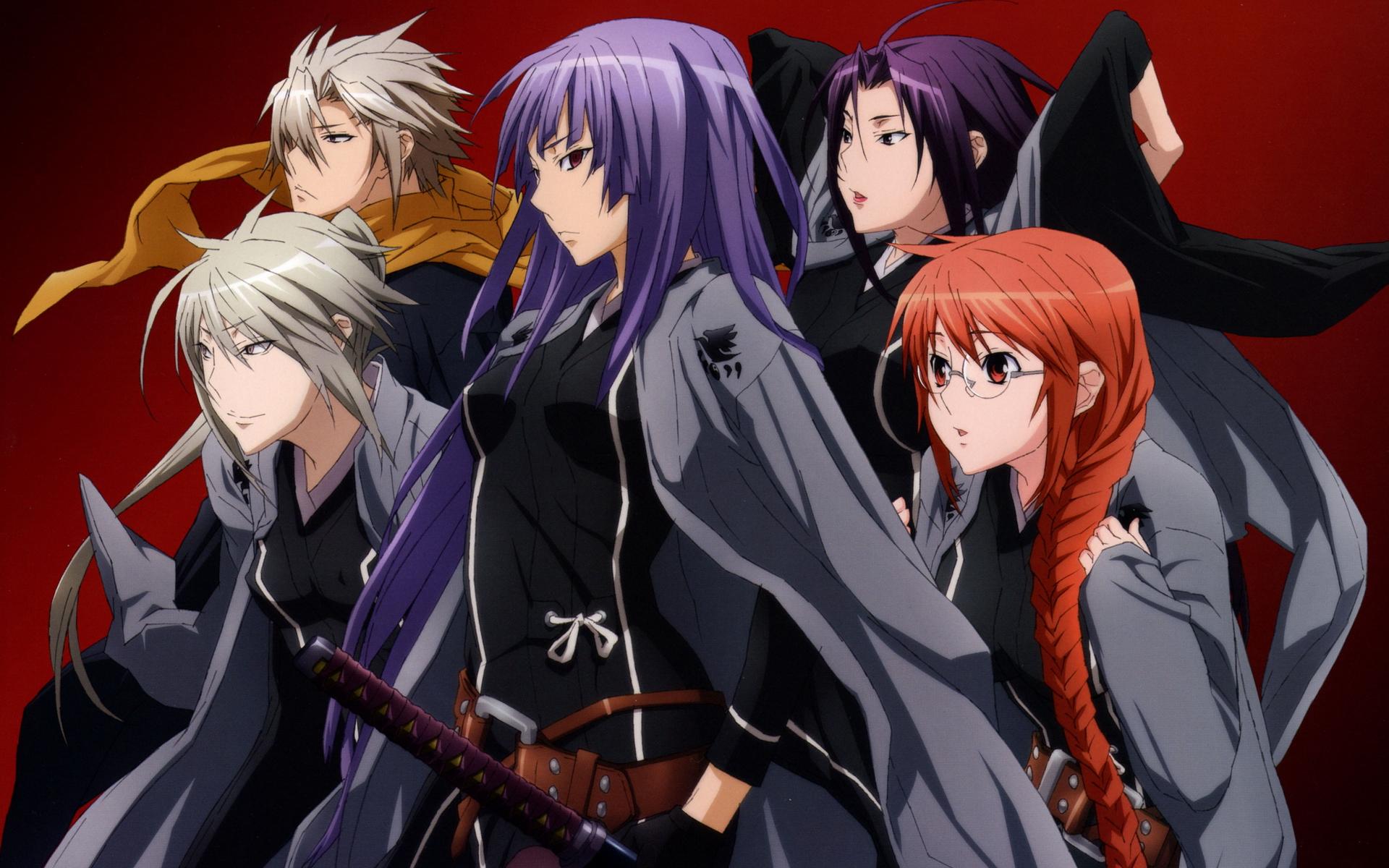 Картинки с персонажами аниме