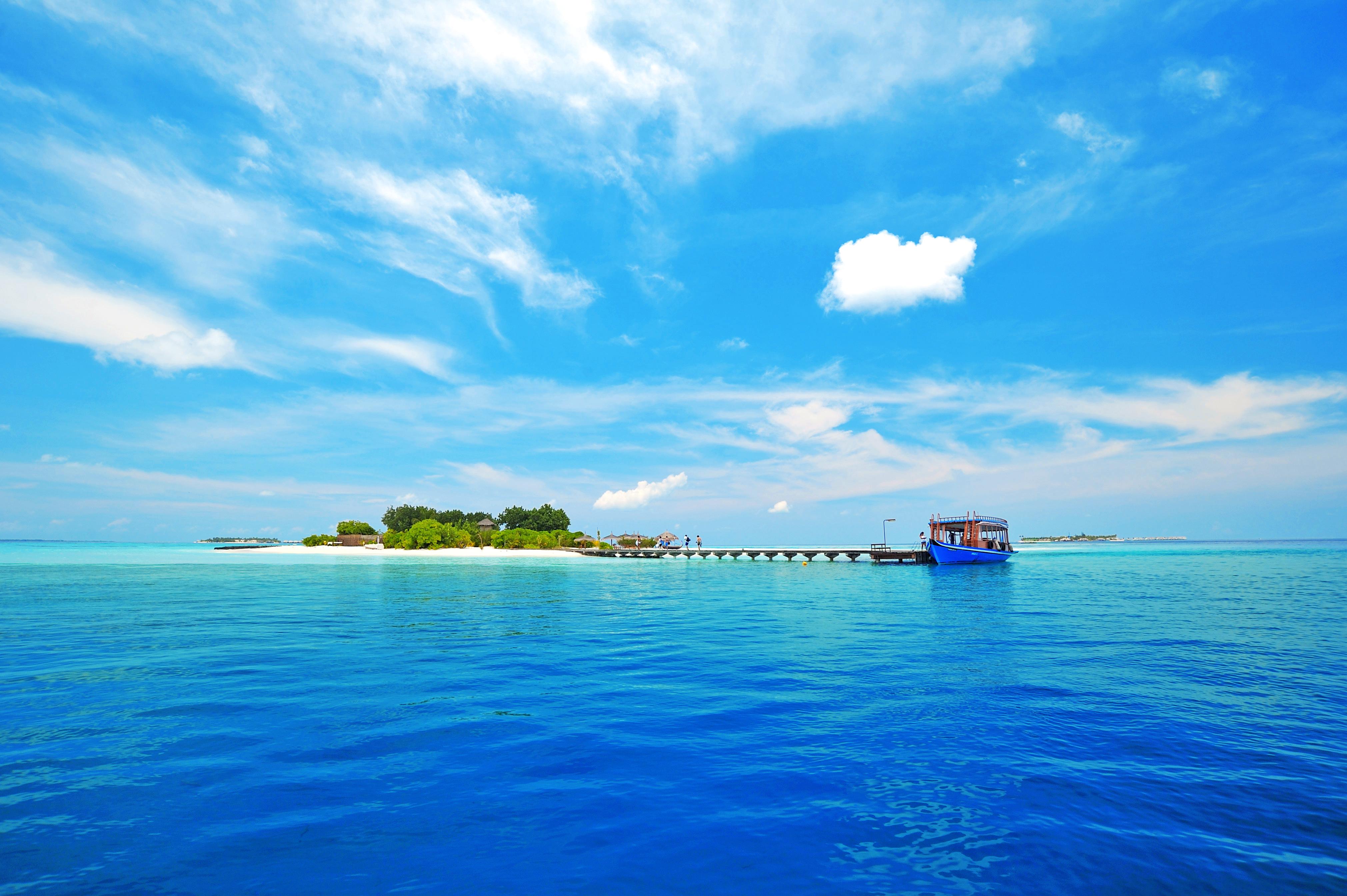 пирс море небо курорт  № 1238070 без смс