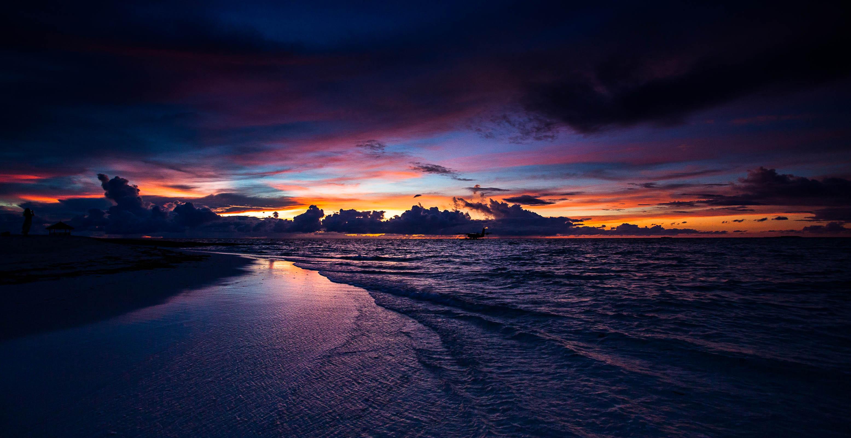 закат море бесплатно