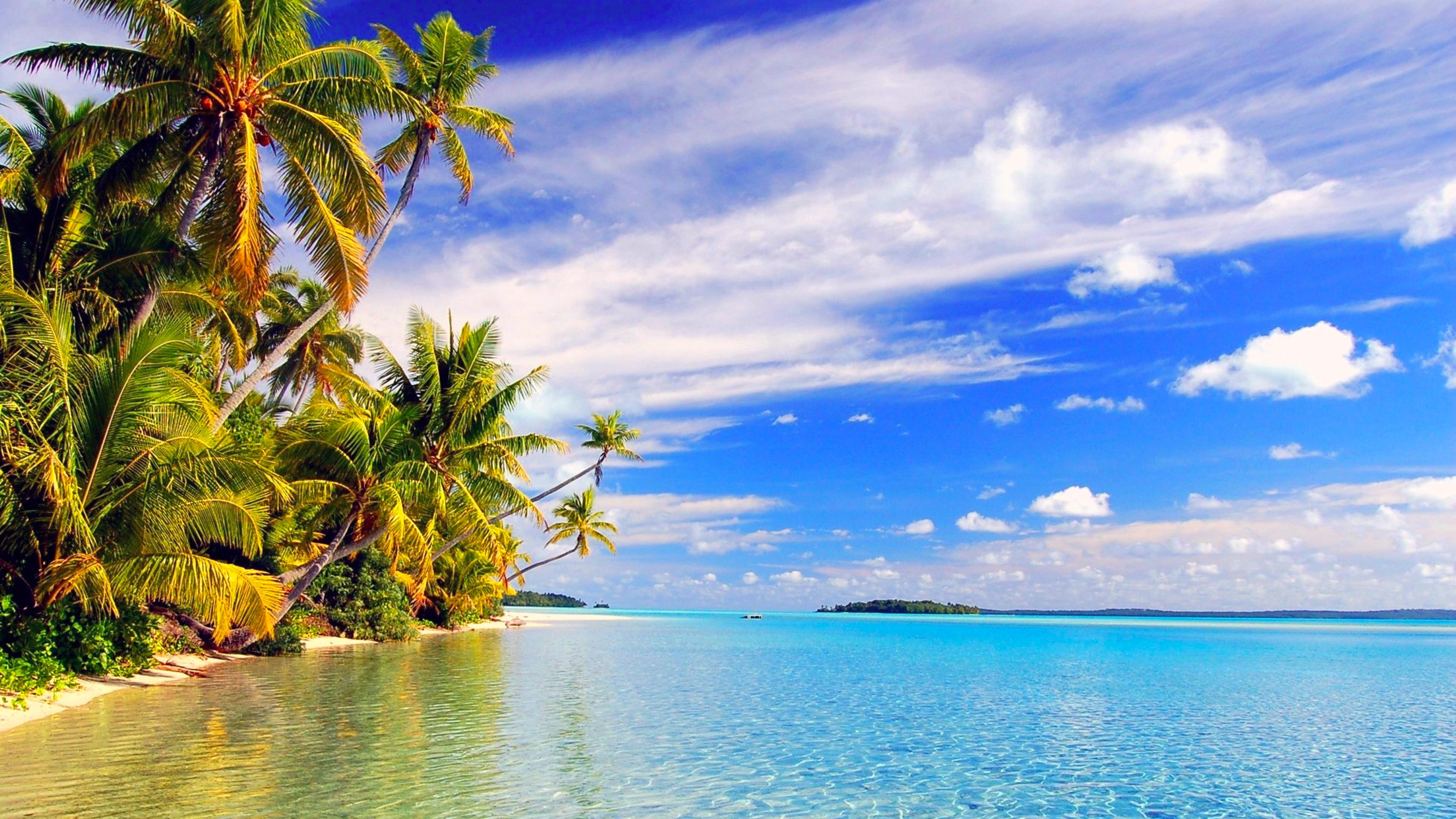 Hana Iti Beach, Huahine Island, Tahiti загрузить