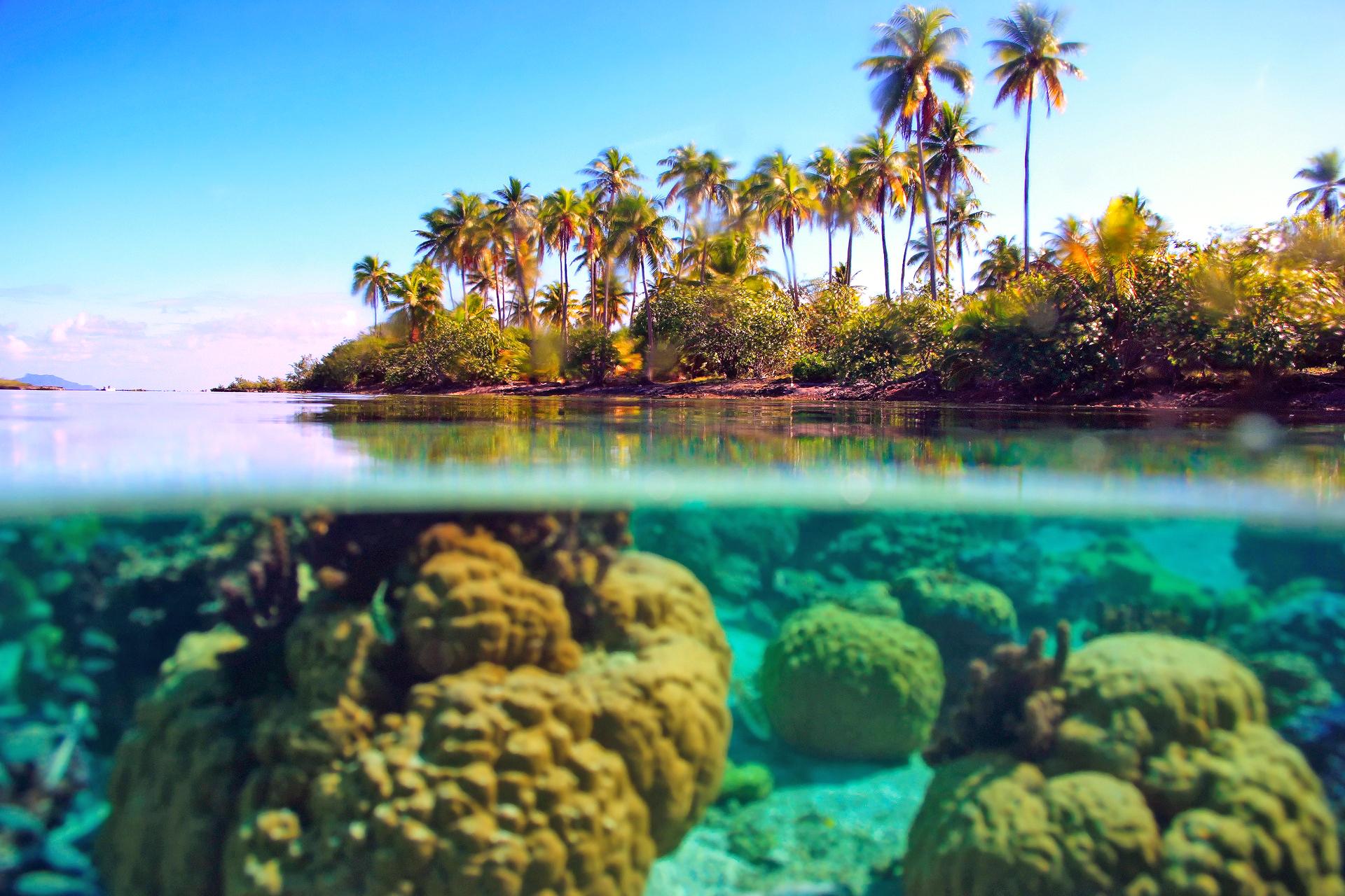море остров небо камни  № 1034161 загрузить